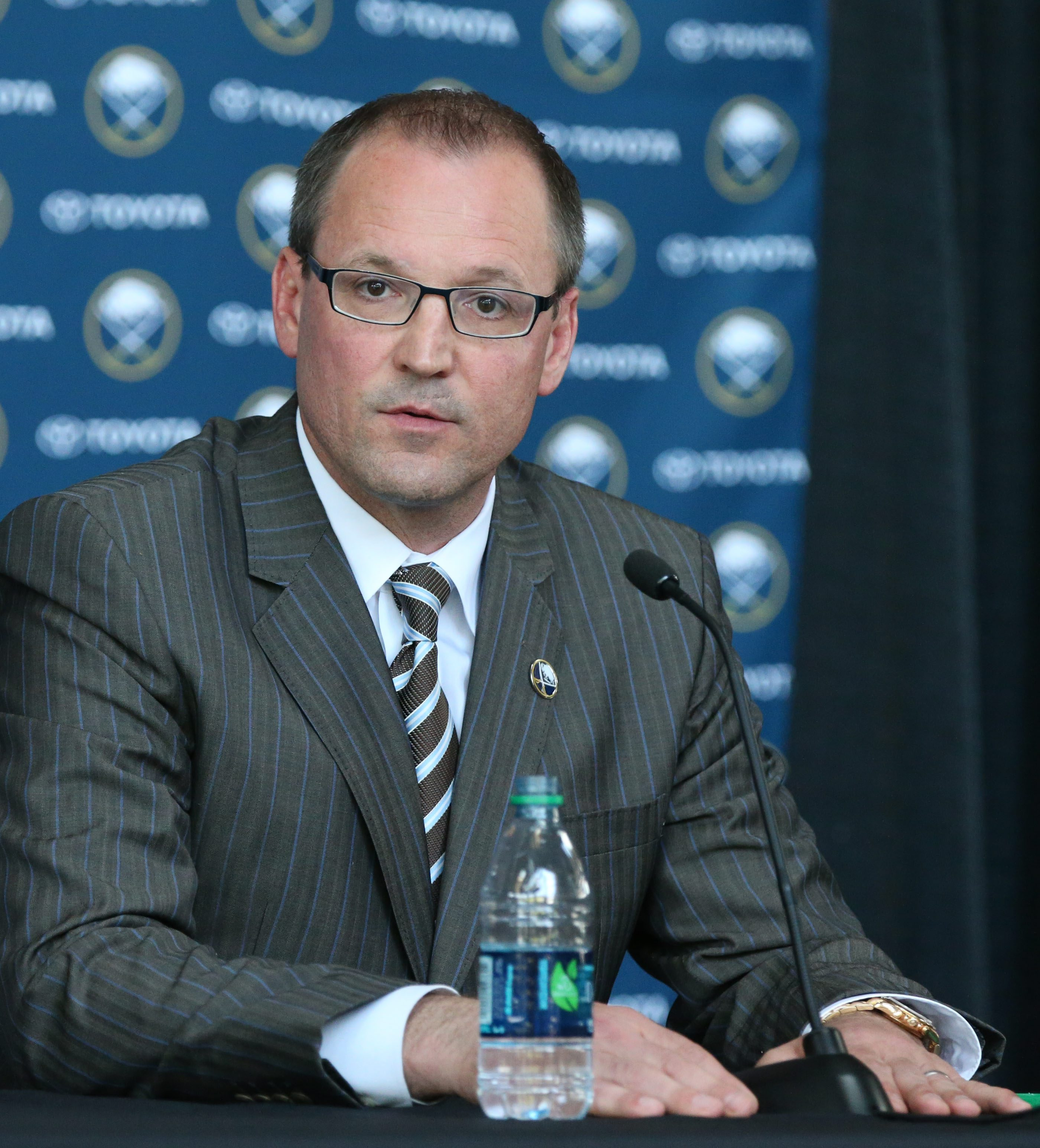 Dan Bylsma joked that he watched too many games on television last season.