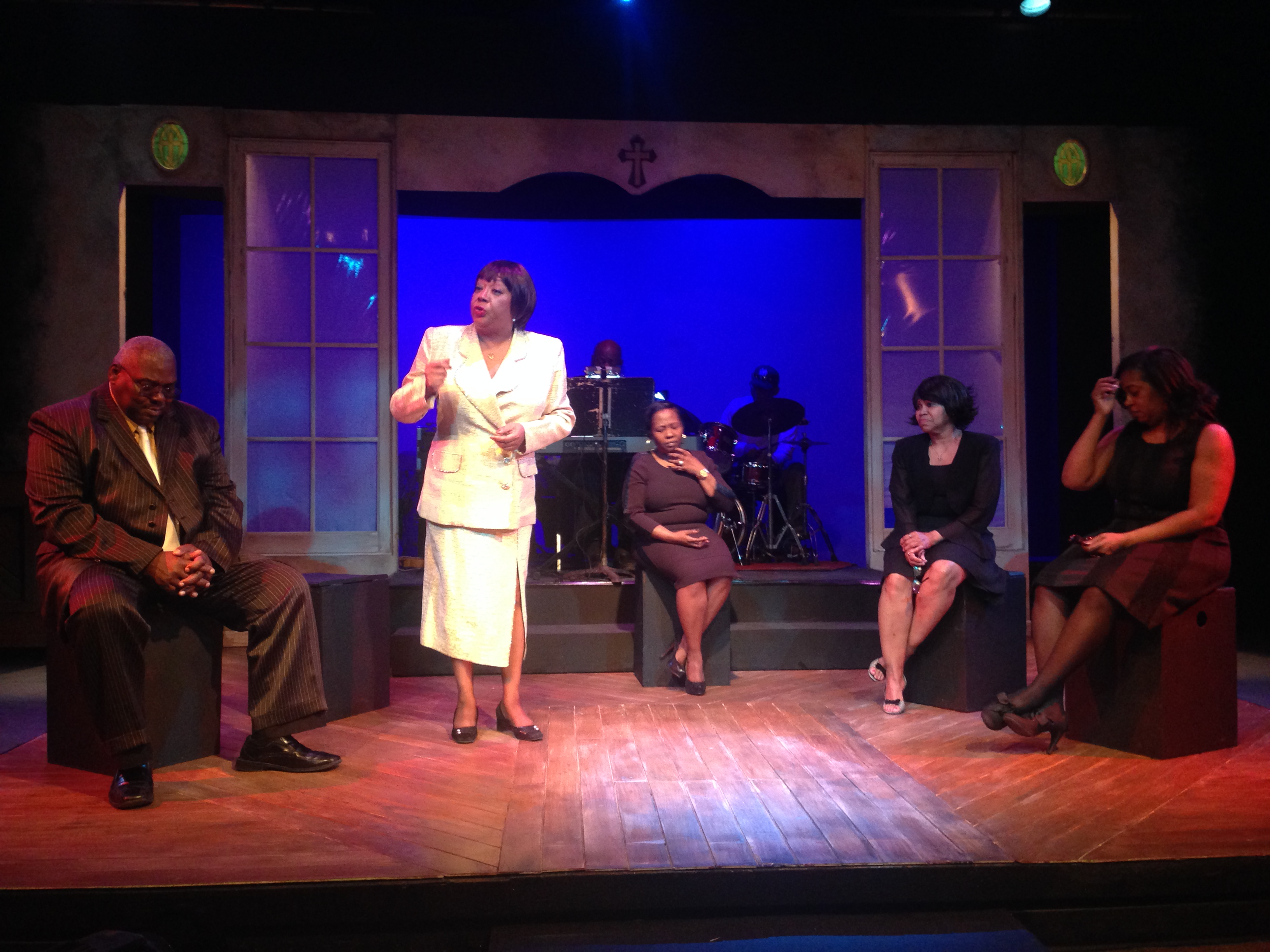 "'How I Got Over,"" a new original play by Paulette D. Harris, is a remarkable look at five Buffalo gospel legends at Paul Robeson Theatre."