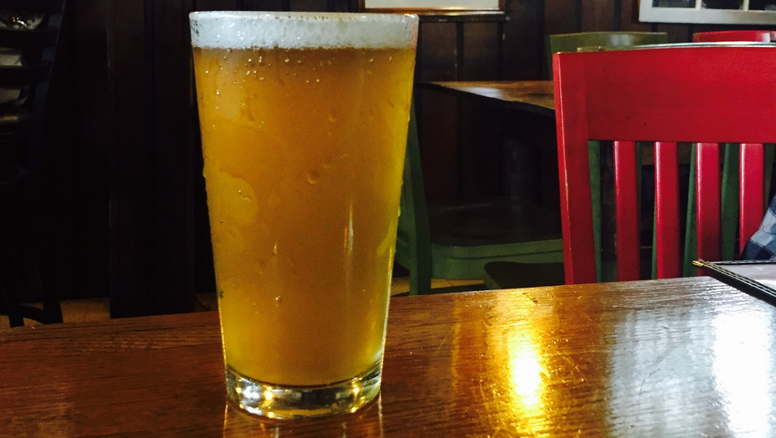 The St. Patrick's Pilsner from Old First Ward Brewing. (Matt Kresconko/Special to the News)