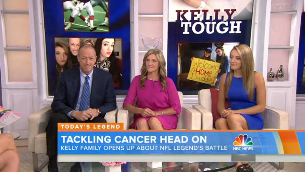 Jim, Jill and Erin Kelly appeared on the Today Show Monday morning.