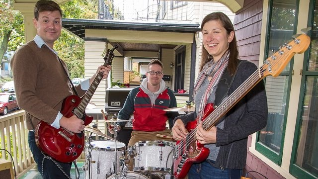 Science Lion was one of the dozens of bands that performed in the 2014 edition of Buffalo Porchfest. (Don Nieman/Special to the News)