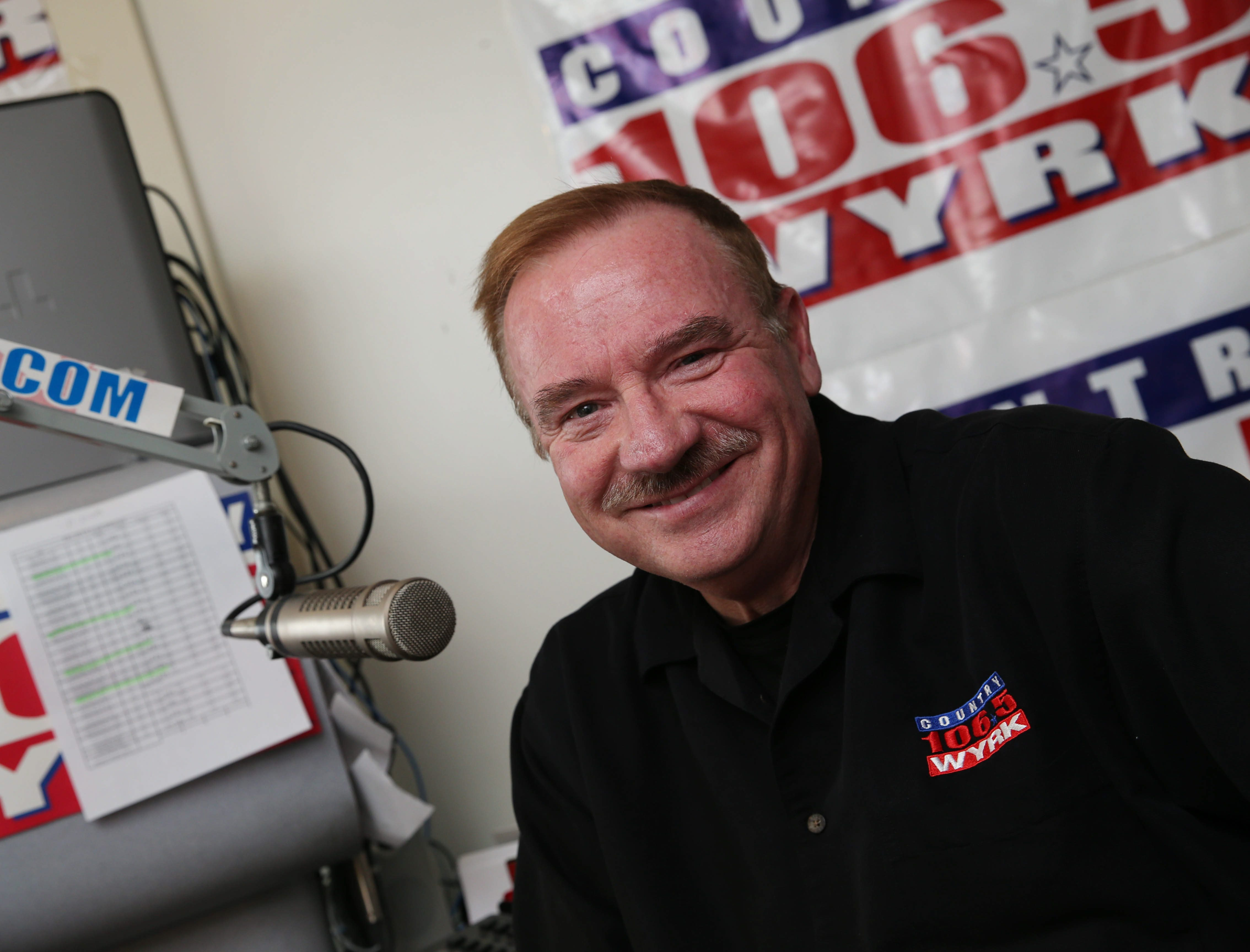 Dale Mussen is one of the DJs from The Breakfast Club on WYRK.  (Sharon Cantillon/Buffalo News file photo)