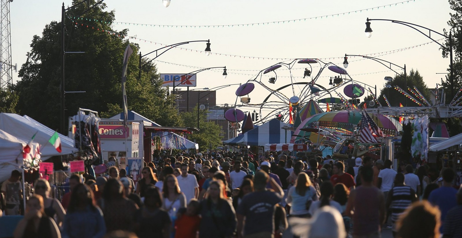 The annual Italian Festival draws food lovers to Hertel Avenue for a four-day fest. (Buffalo News file photo)