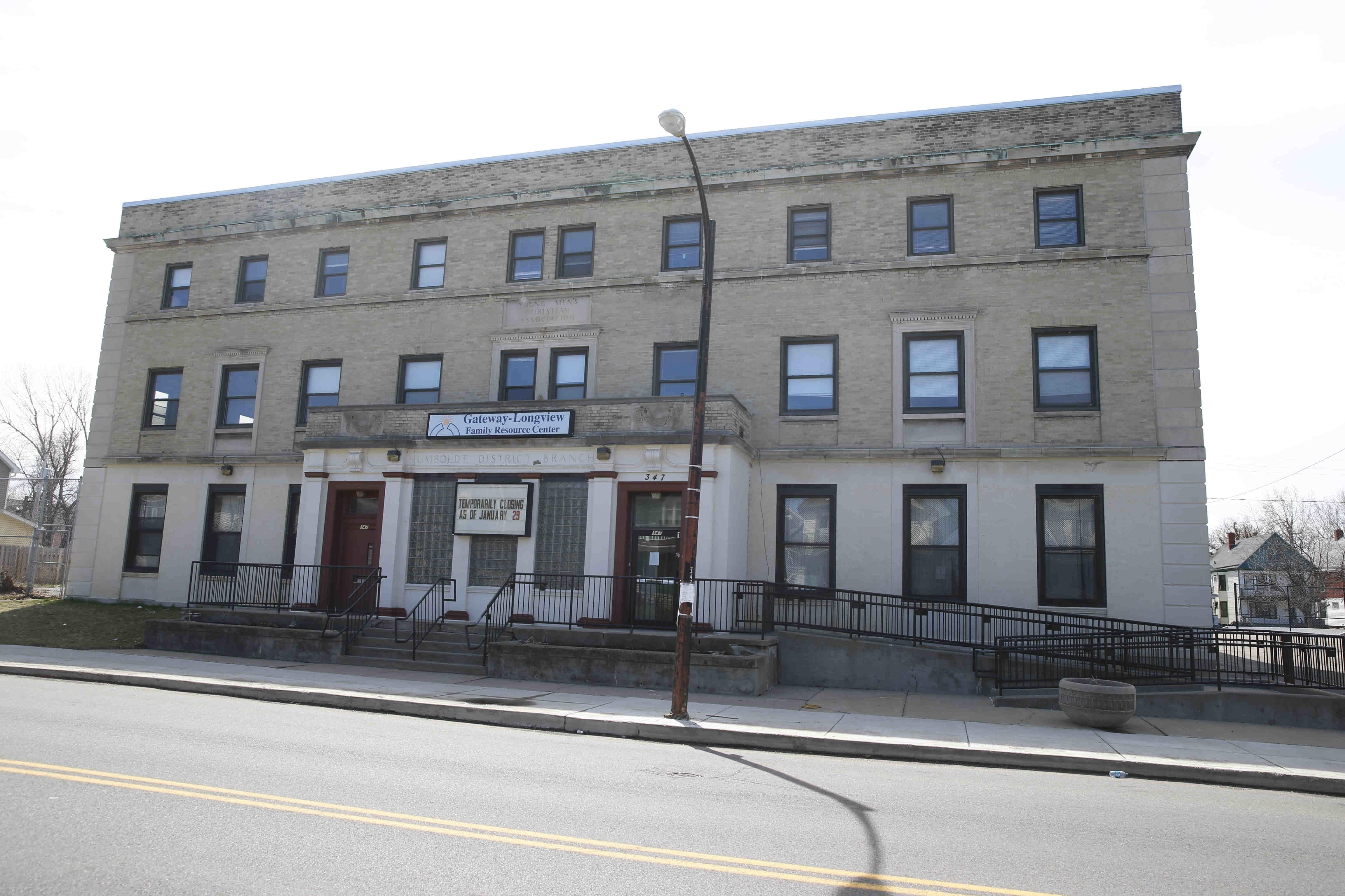 Patriot Heights Apartment Project, 347 E. Ferry St., is $2.7 million con- version of  a former YMCA into 16 low-income units for female veterans.
