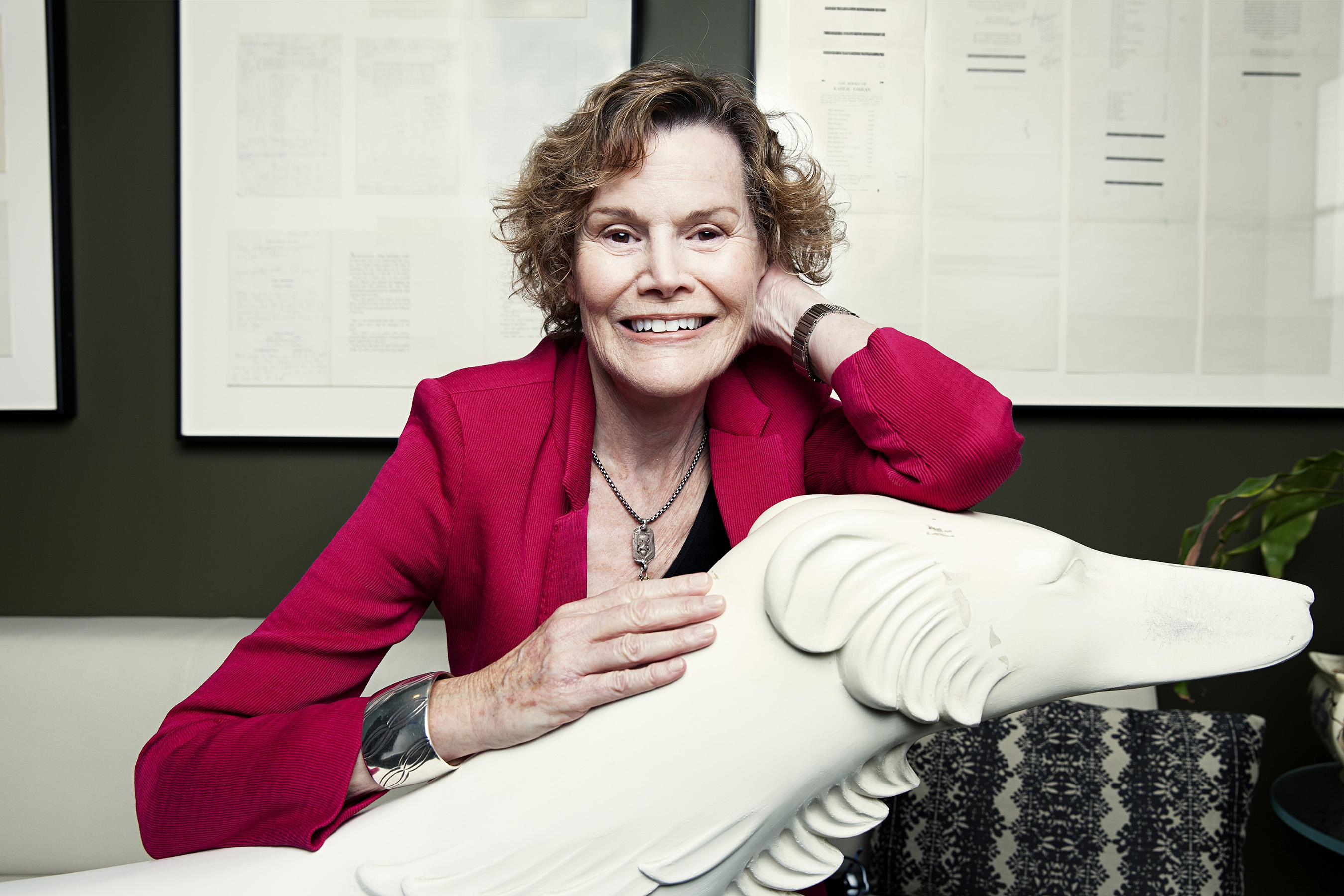 "Judy Blume's novel, ""In the Unlikely Event,"" is based on three plane crashes in the 1950s in her hometown of Elizabeth, N.J."
