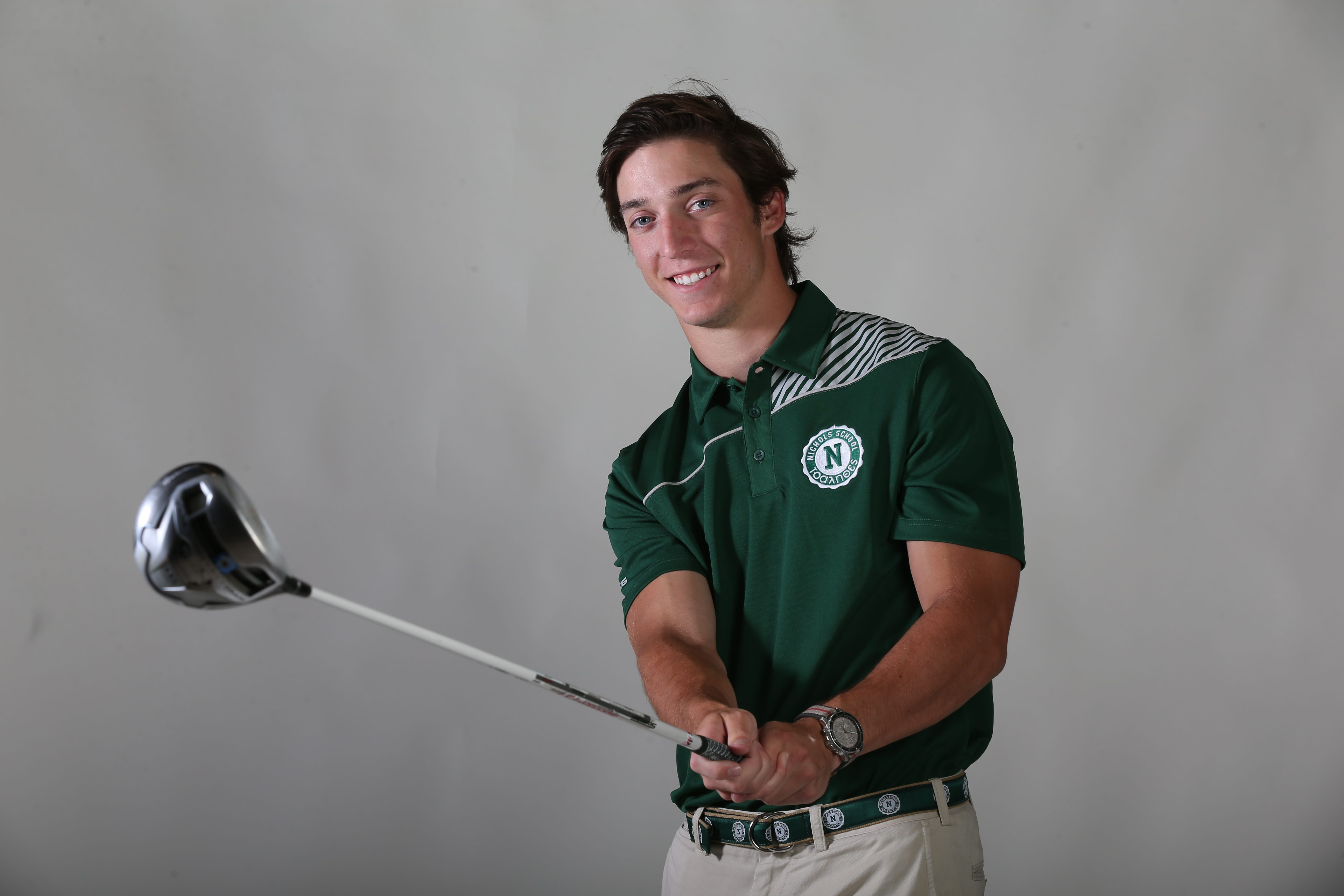 Prep Talk Player of the Year for boys golf: Gregory Sibick of Nichols. (James P. McCoy/Buffalo News)