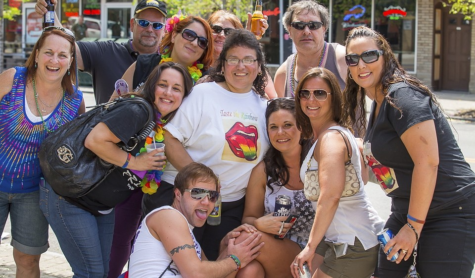 Expect a great turnout for the Pride Festival at Canalside on Sunday, the culmination of a weeklong series of events. (Don Nieman/Special to The News)