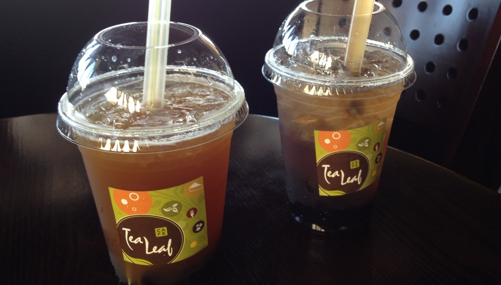 Bubble tea, with optional tapioca 'pearls,' comes in 50 or more varieties at Tea Leaf Cafe. (Andrew Galarneau/Buffalo News)