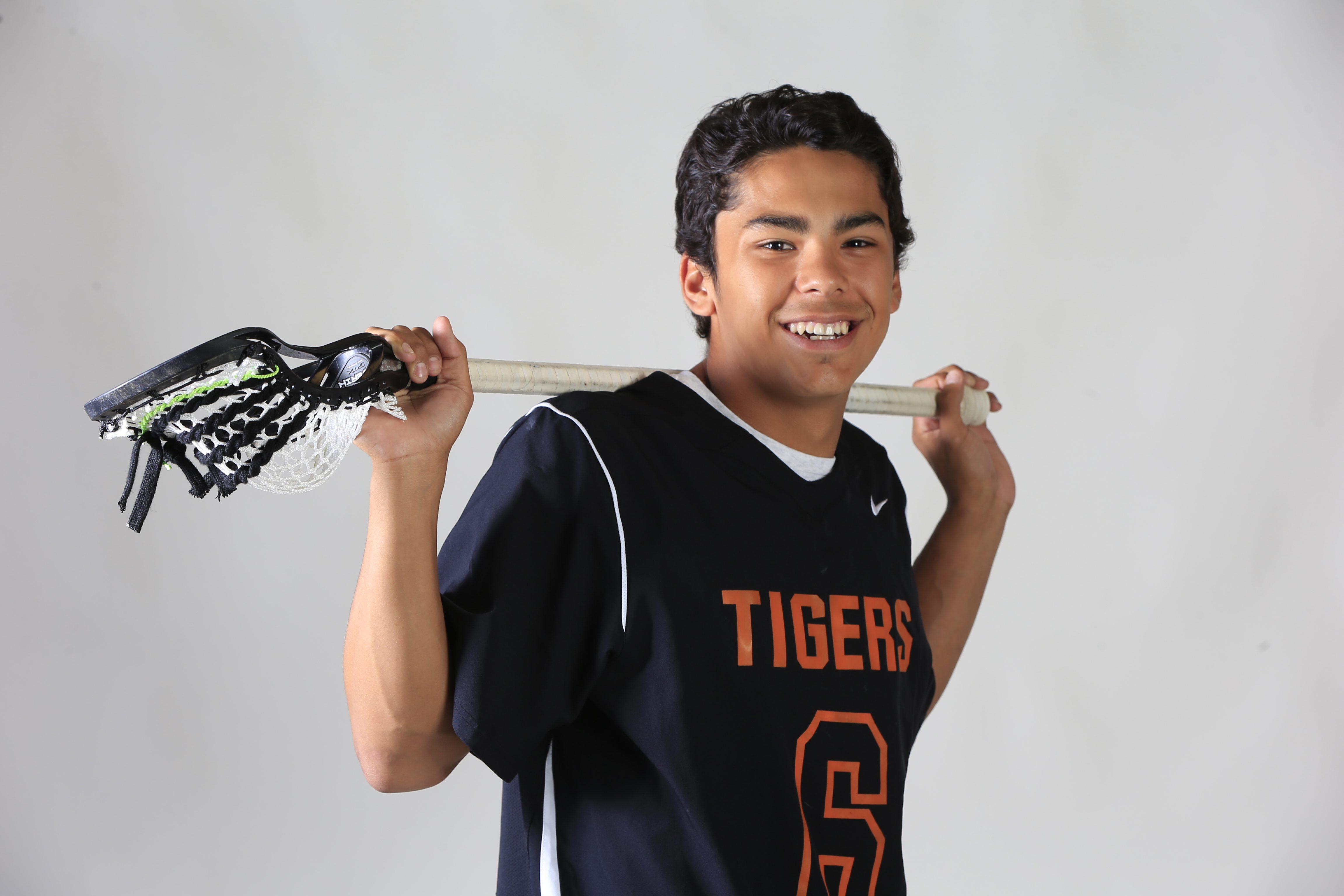 Prep Talk Player of the Year for boys lacrosse: Larson Sundown of Akron. (Harry Scull Jr./Buffalo News)