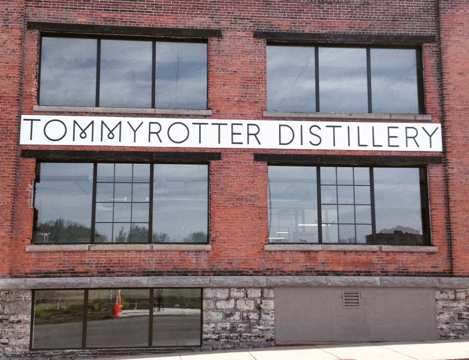 Explore the big brick building on Seneca Street that houses Buffalo's newest distillery. (via Tommyrotter's Facebook page.)