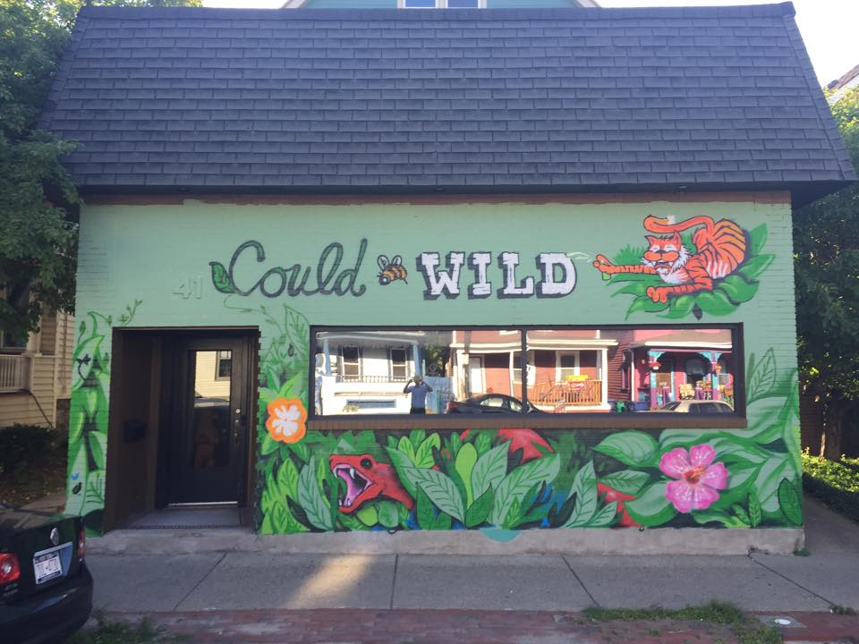 The newly decorated Could Be Wild Building will host a music event in its side alley during the Buffalo Infringement Festival.