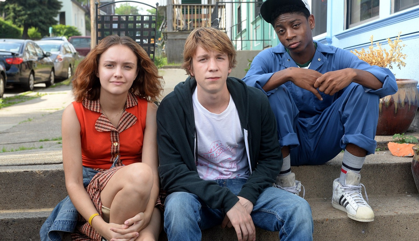 Olivia Cooke, left, Thomas Mann and RJ Cyler star in 'Me and Earl and the Dying Girl.' (Anne Marie Fox/Fox Searchlight)