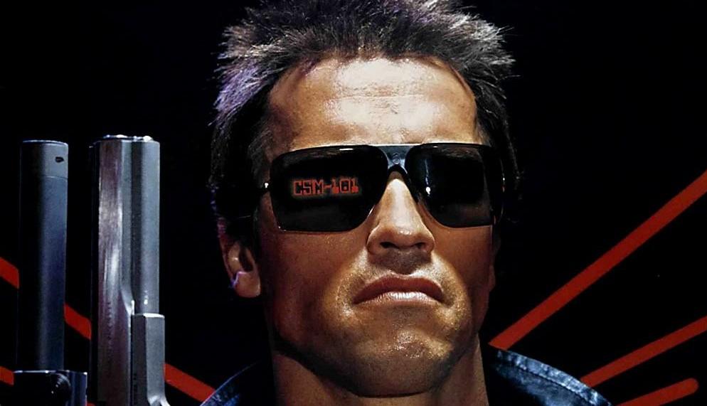Arnold Schwarzenegger and his sunglasses starred in the original 1984 'Terminator.'