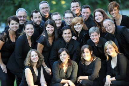 The Harmonia Chamber Singers are singing with the Camerata di Sant'Antonio in a concert that benefits Niagara Hospice.