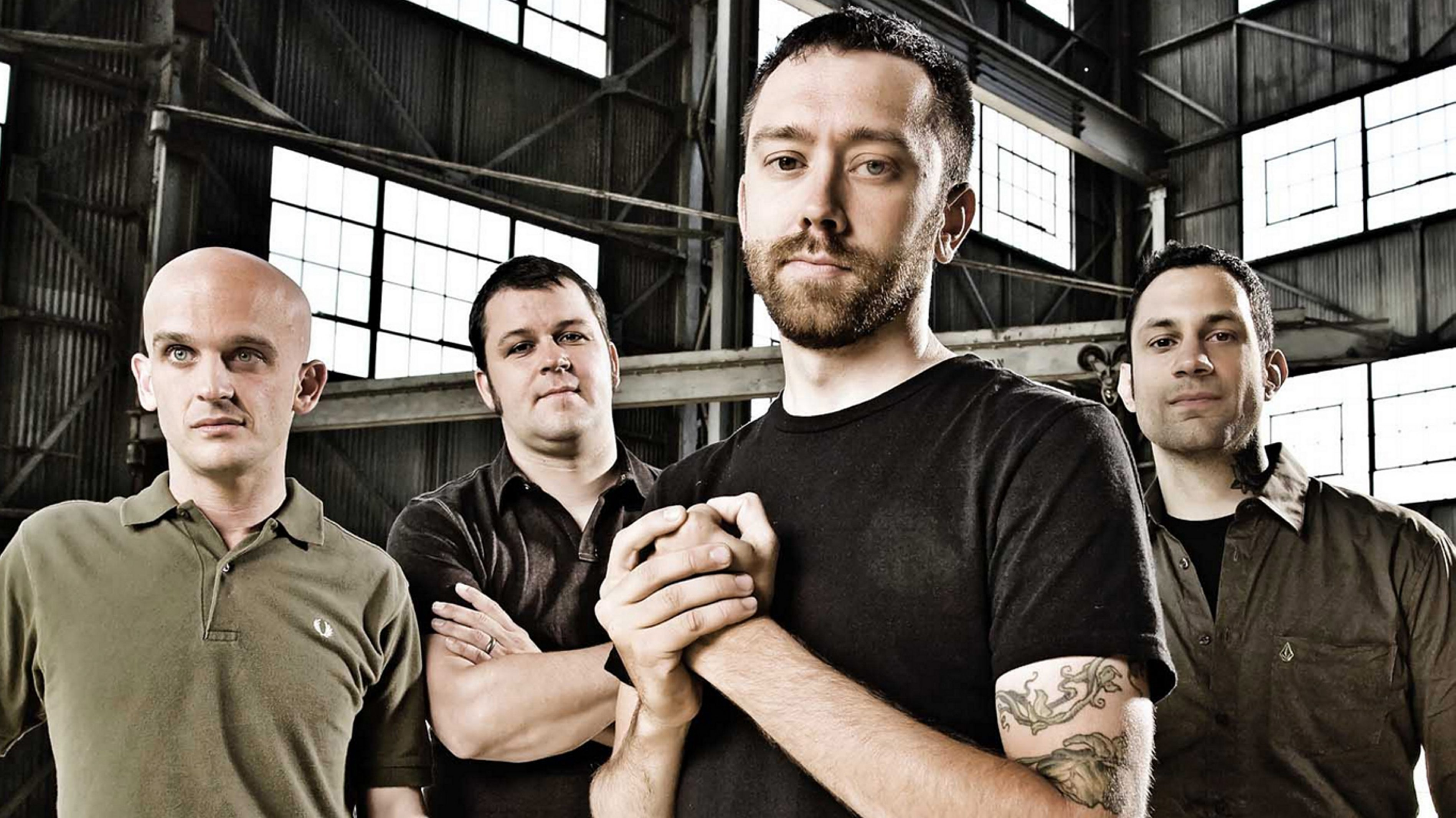 Rise Against performs at Edgefest on Sept. 12 at the Outer Harbor Concert Site.