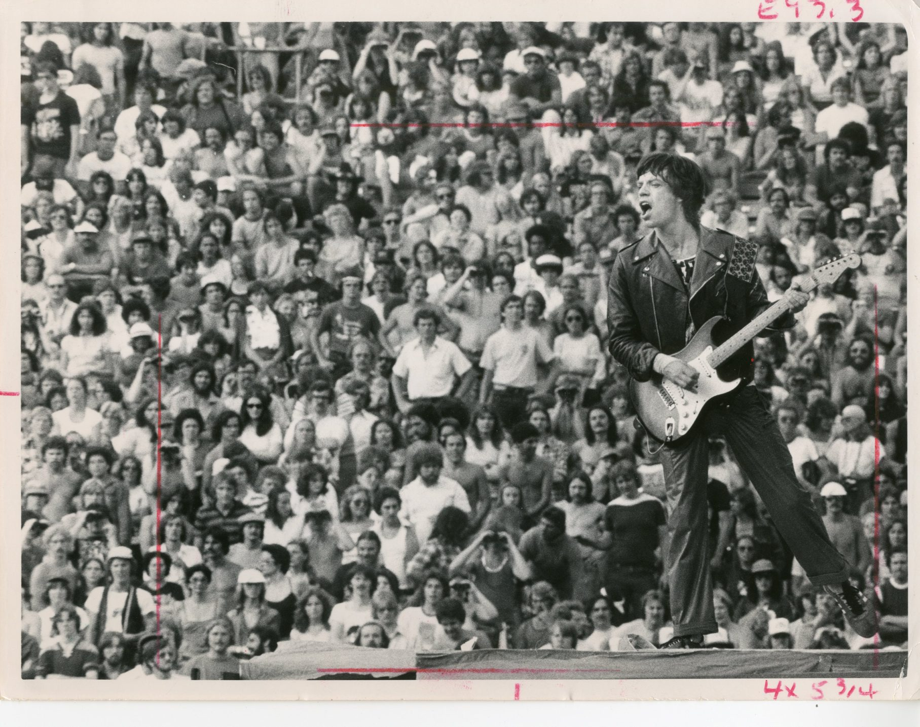"""Remember when Mick Jagger and the Rolling Stones performed on the Fourth of July in 1978 at Rich Stadium? A Buffalo News review called it """"old fashioned high energy rock 'n' roll."""""""