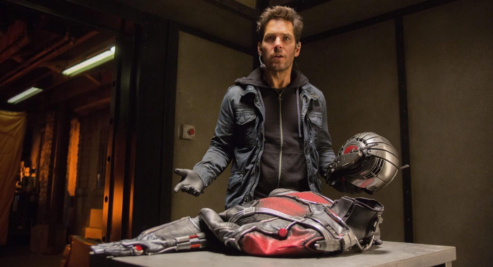 Paul Rudd stars as 'Ant-Man.'