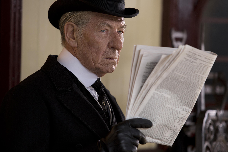 "Sir Ian McKellen nails his role as an aging Sherlock Holmes in ""Mr. Holmes."""
