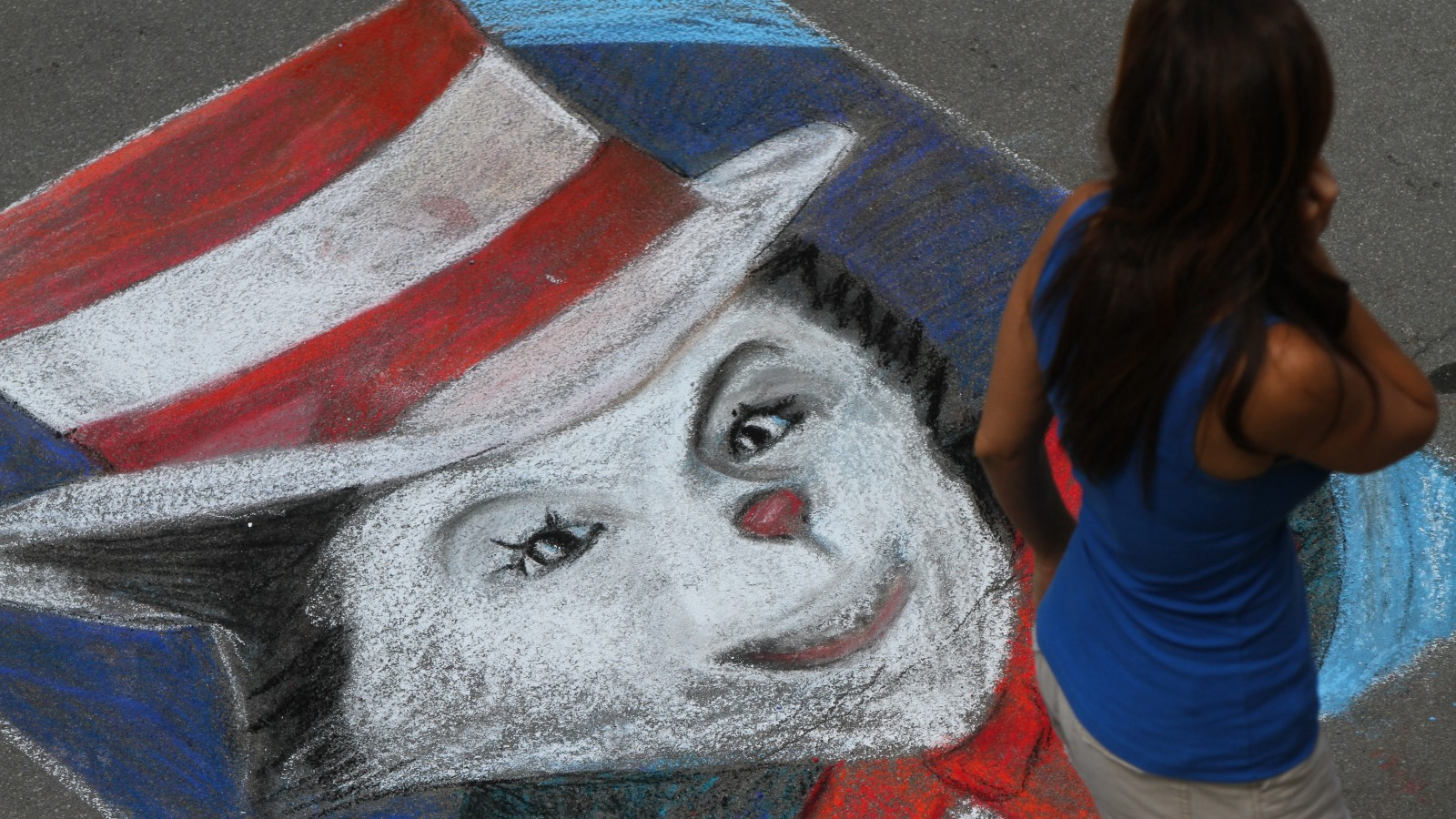 Chalkfest Buffalo! returns to downtown with a full day of activities this weekend. Reserving a square for drawing automatically enters a participant in the festival's competition.