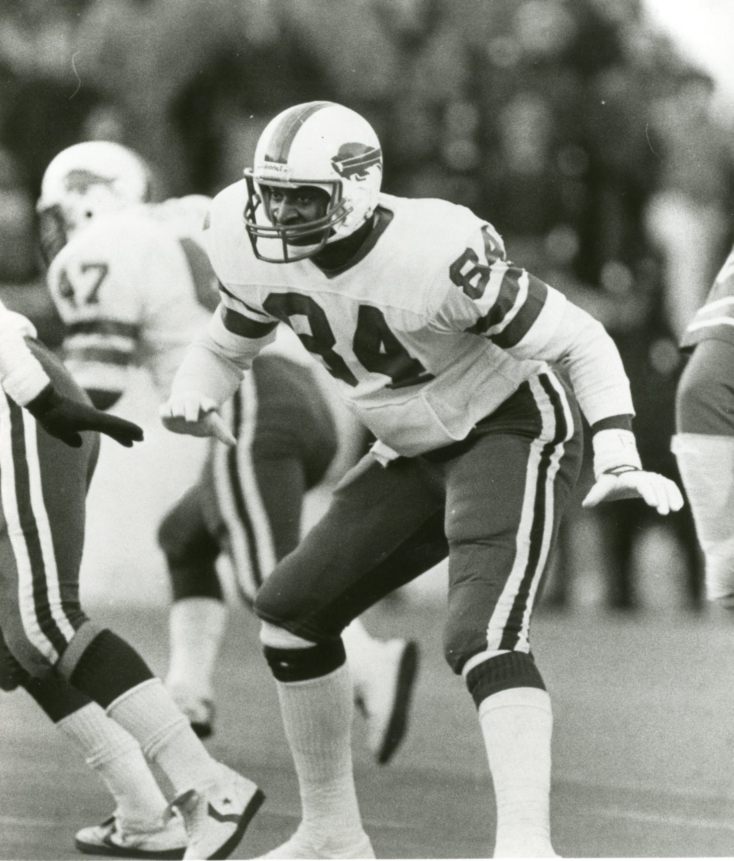 Buster Barnett during his years as a Buffalo Bill. (News file photo)