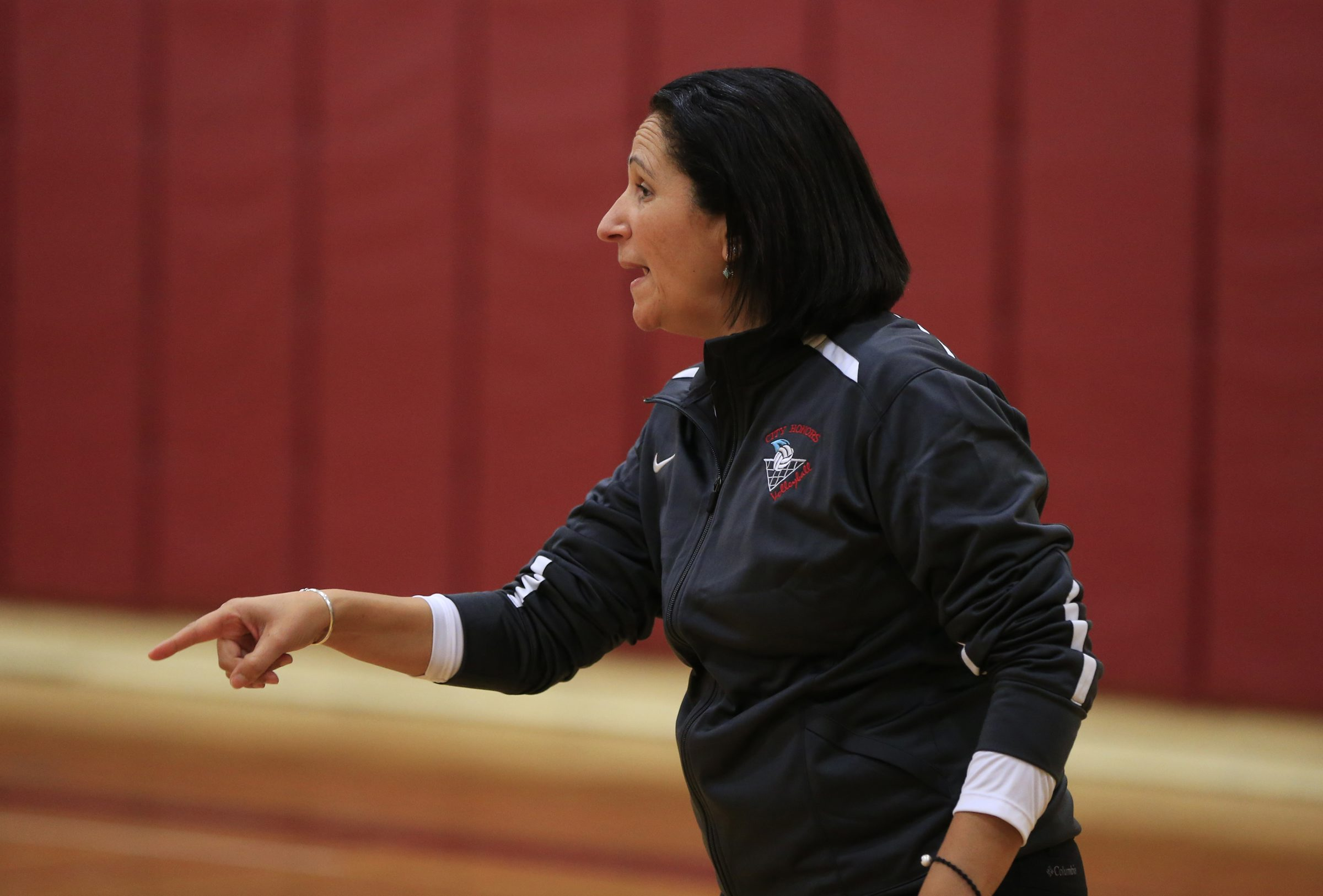 Deborah Matos has guided City Honors volleyball to a state championship and six Section VI titles during her 19 seasons as Centaurs coach. She also guided City Honors softball to a winning season and spot in the Section VI Class B-1 semifinals. (Harry Scull Jr. / Buffalo News file photo)