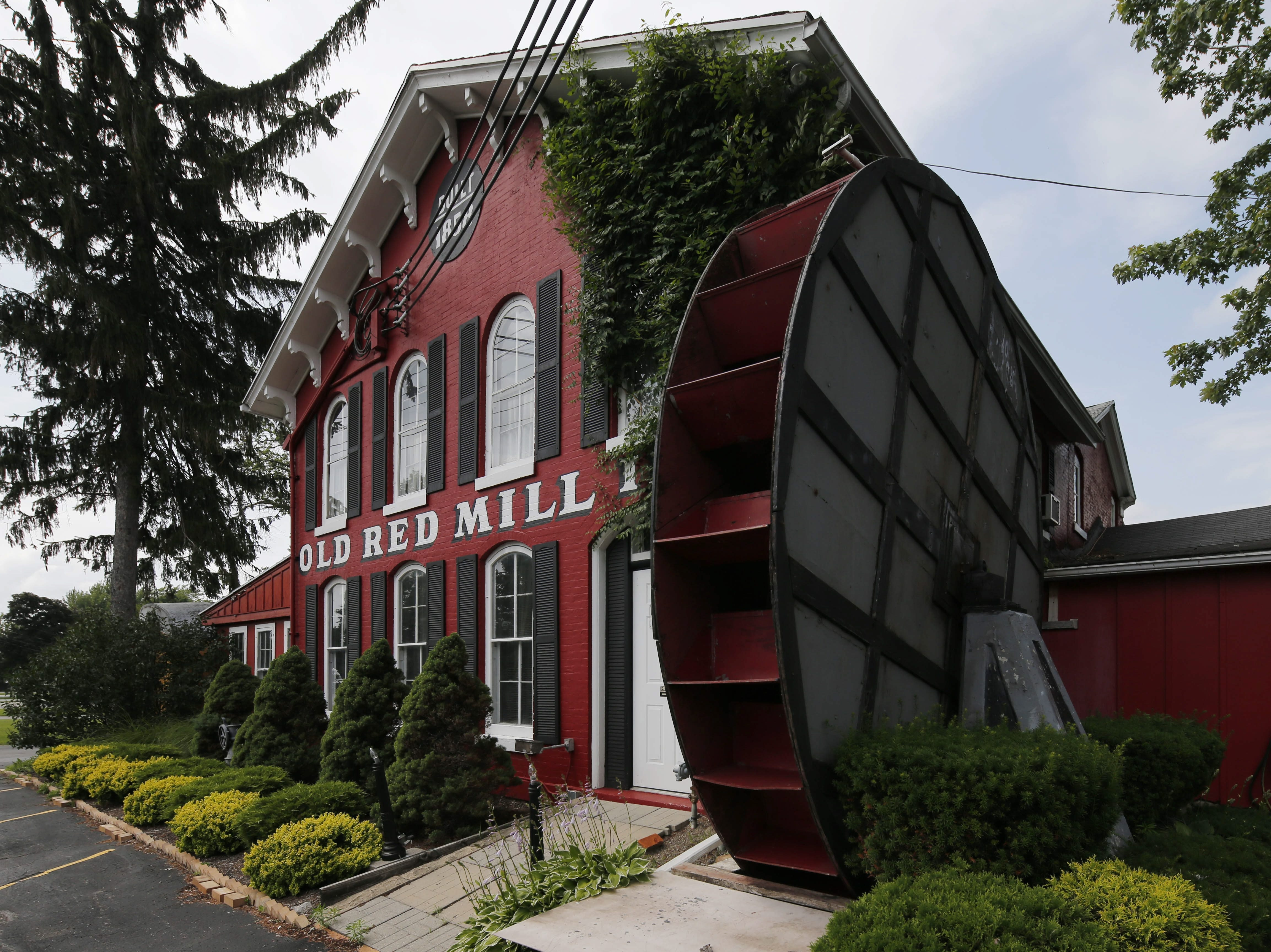 Thecontents of the Old Red Mill Inn on Main Street in Clarence will be auctioned Aug. 6.  (Derek Gee/Buffalo News))
