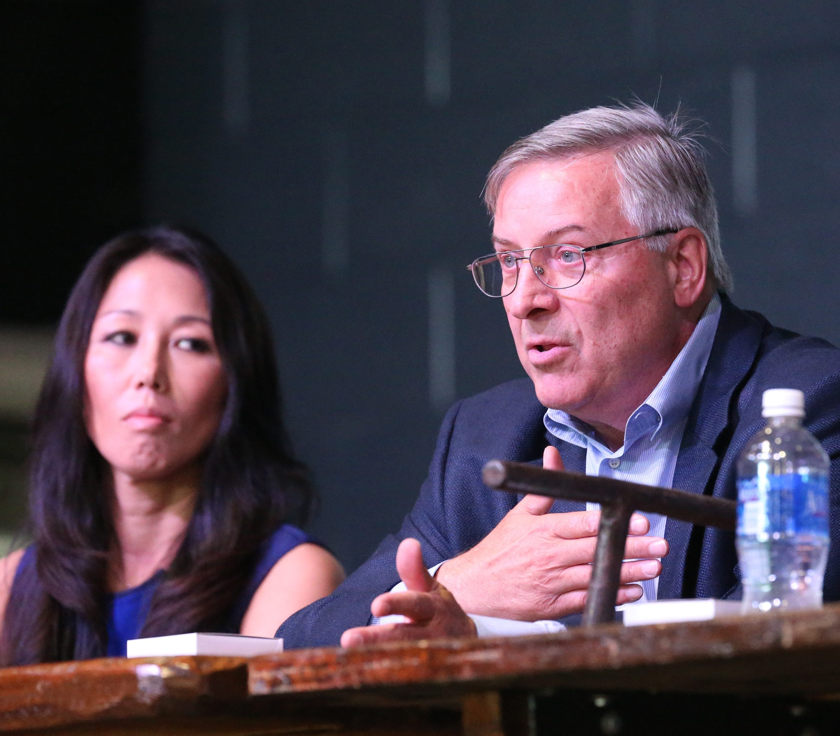 Kim and Terry Pegula discussed the Bills, Sabres and the business-side of sports ownership.