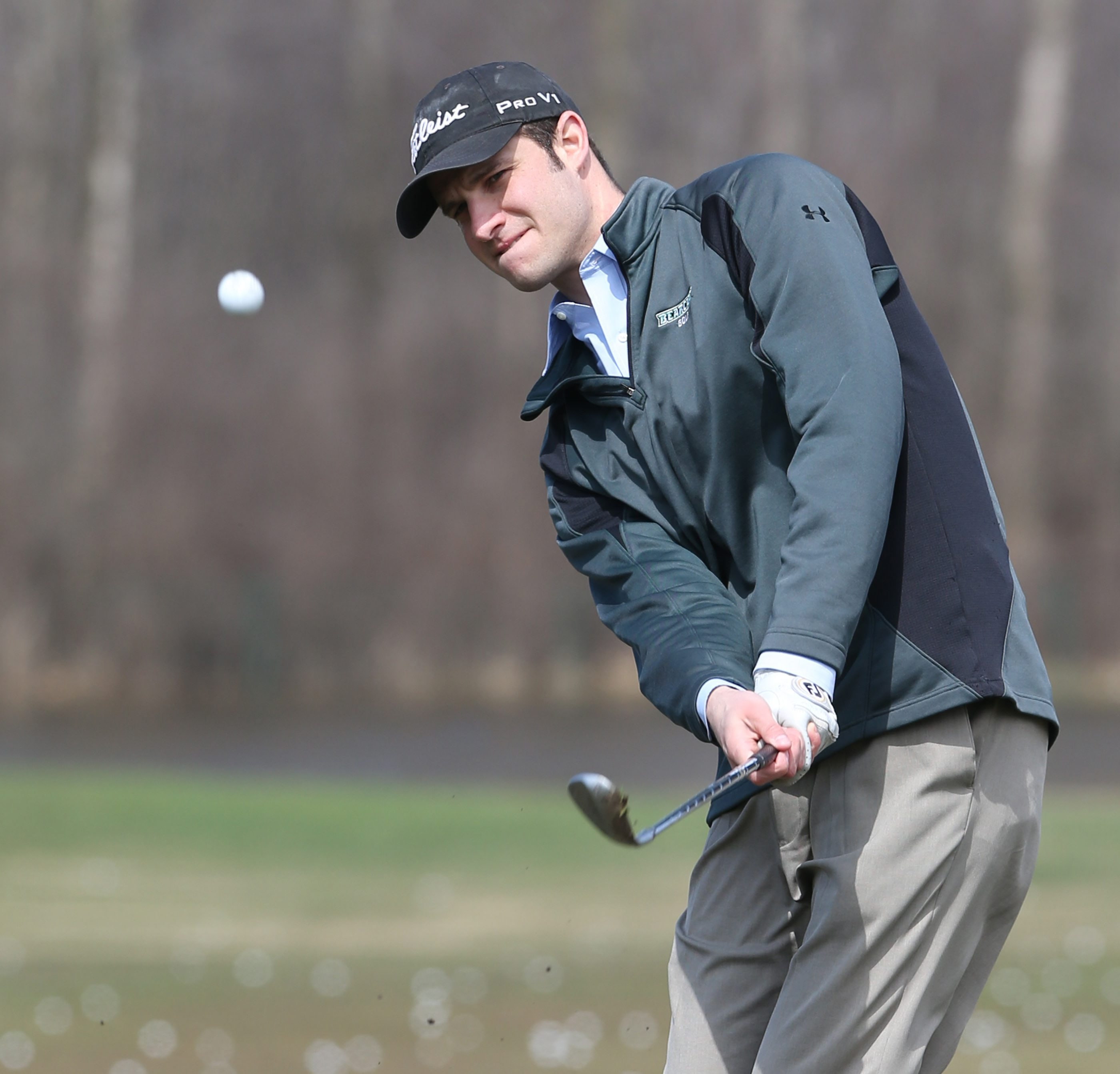 Williamsville's Jake Katz is an amateur again and tied for 10th at the Porter Cup in 2010.