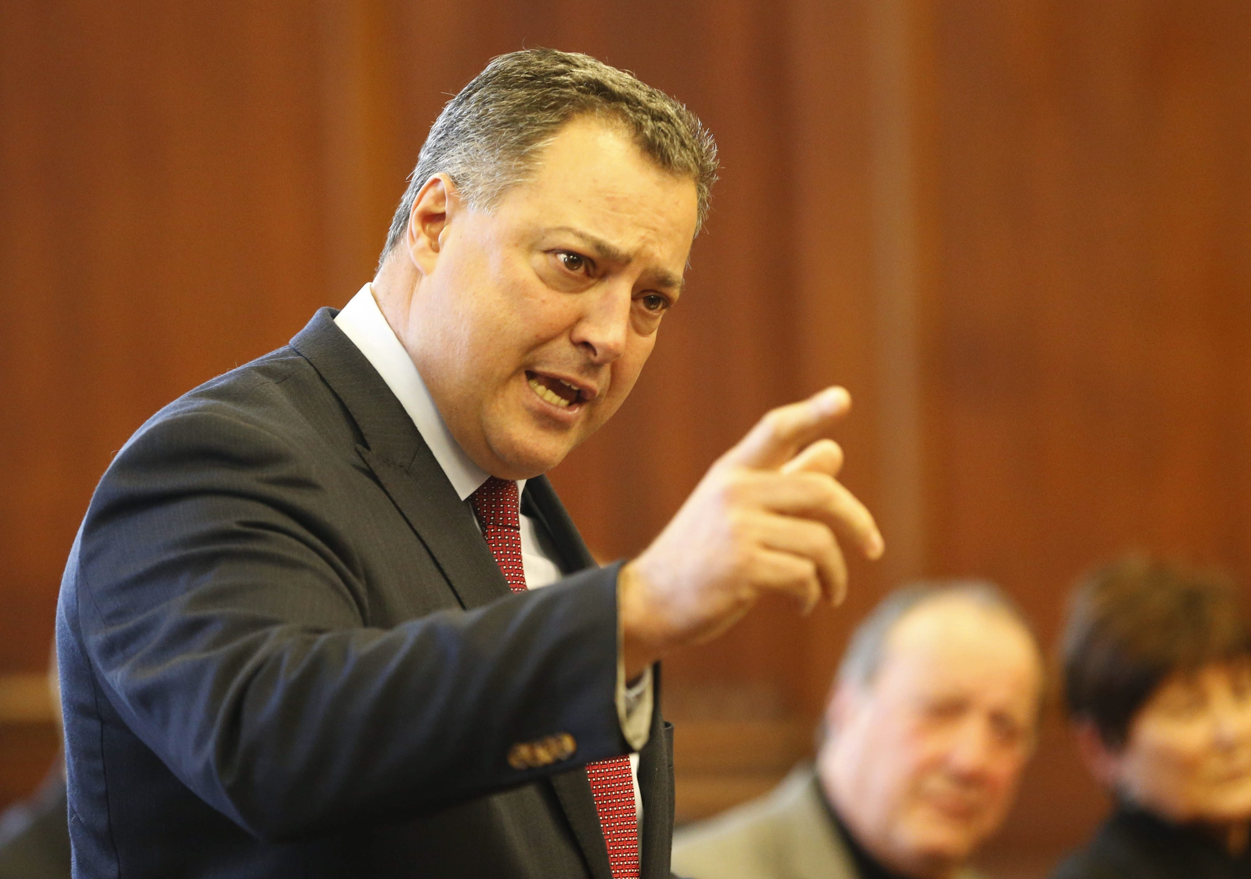 State Sen. Marc Panepinto's law firm specializes in Workers Compensation cases, yet he pushed the state Workers Compensation Board to drop plans to change reimbursement rates.(Derek Gee/Buffalo News file photo)