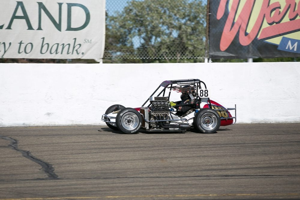 Midget racing driver Kyle Hutchinson has a big race Saturday at Holland Motorsports Complex.