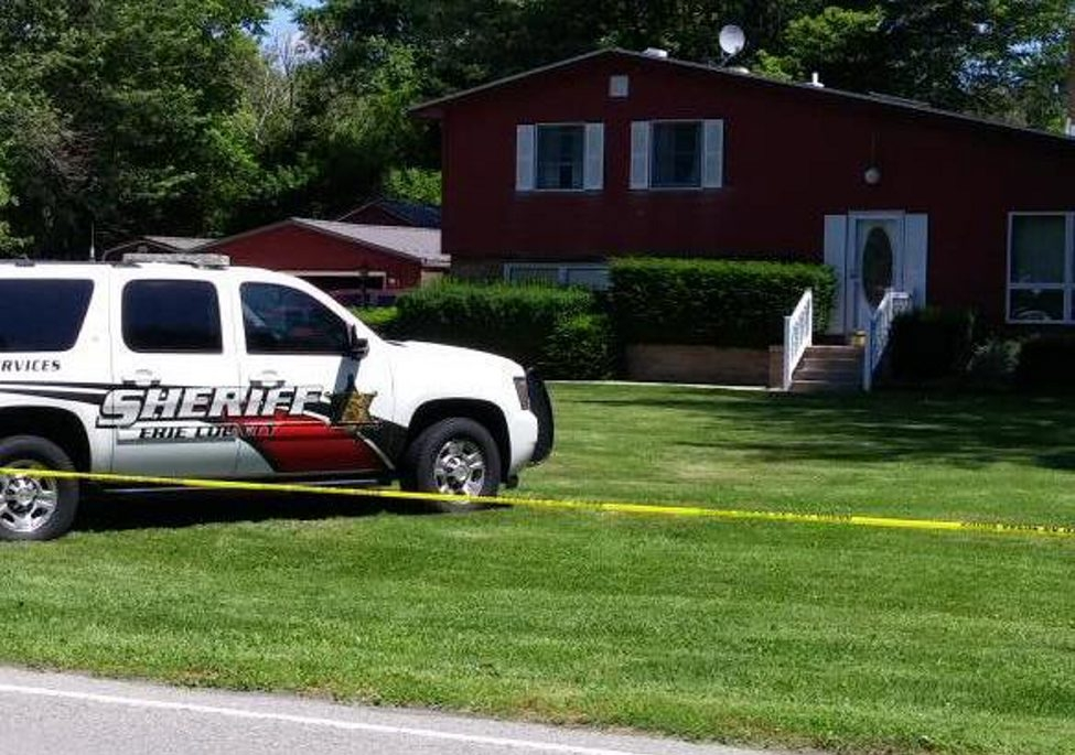 The stepson of Niagara County Legislature Chairman William Ross was seriously injured in the blast in Ross' garage.