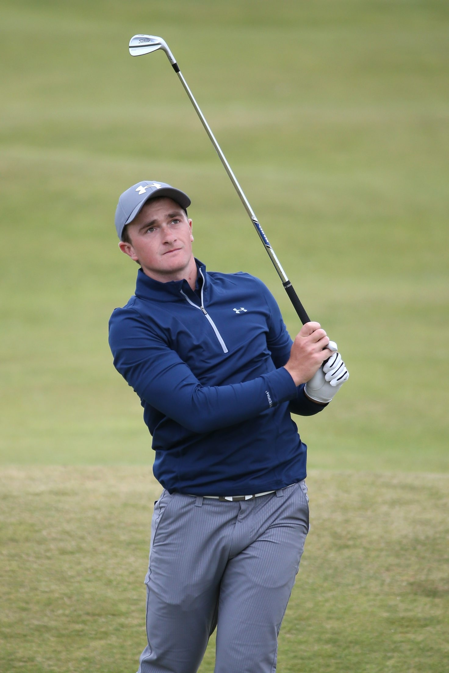 Amateur Paul Dunne of Ireland has been the surprise of the British Open so far. He finds himself tied for the lead with one round to play as he goes up against the game's best players.
