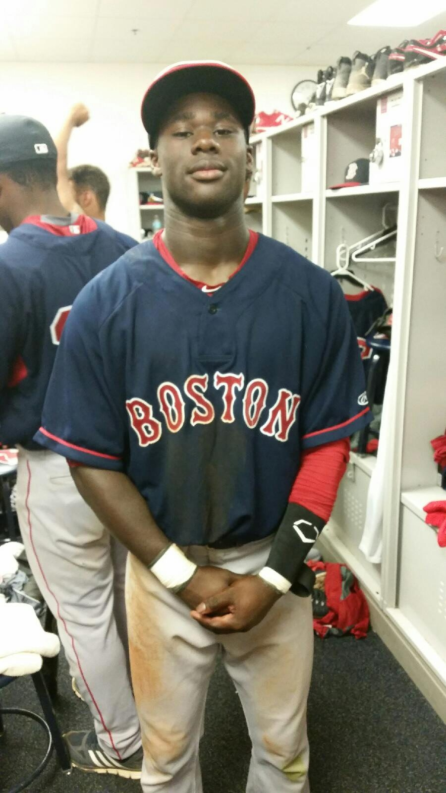 Nick Hamilton has gone from high school star  at Lockport to professional baseball player as a prospect in the Red Sox organization.