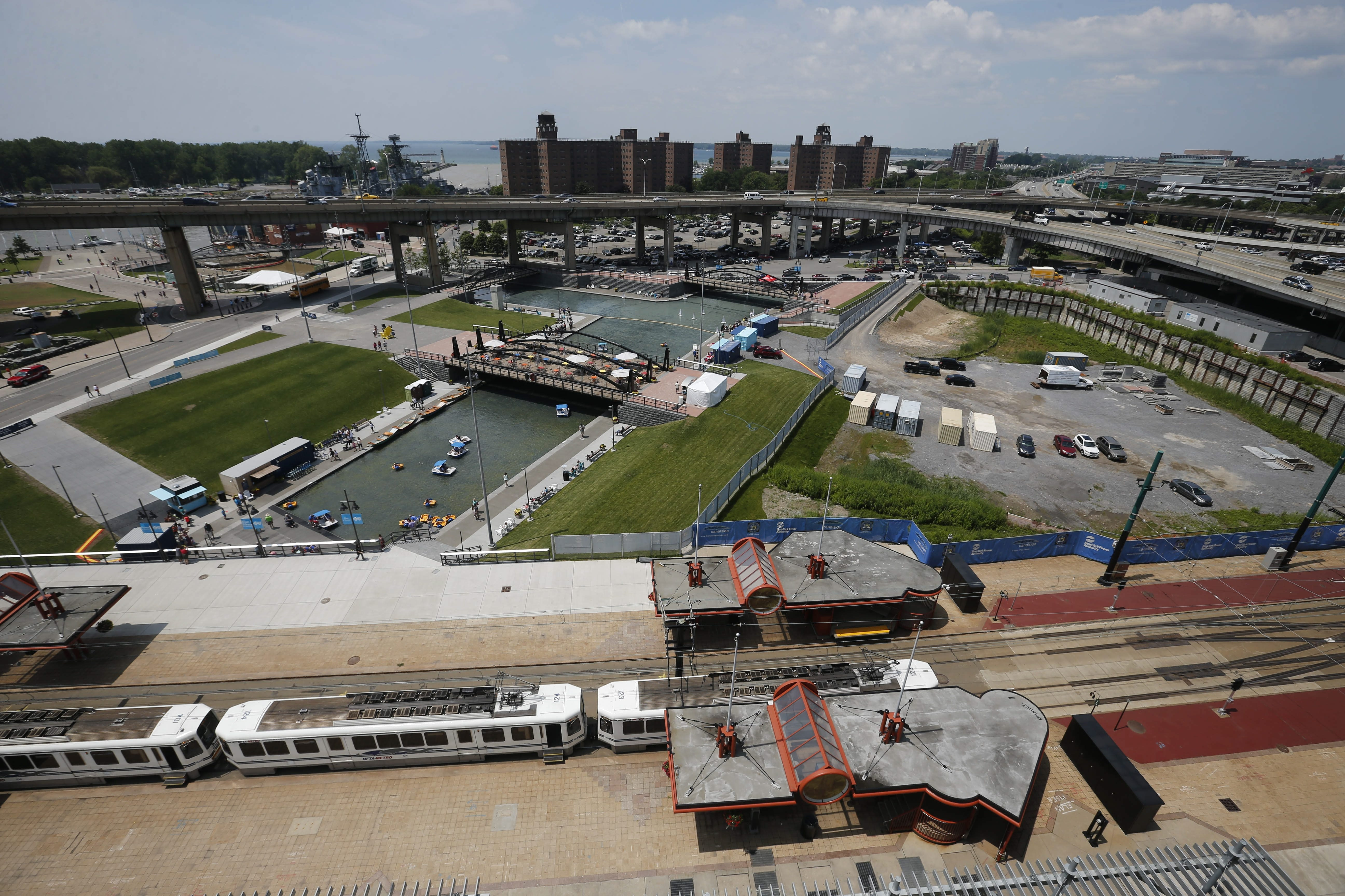 A great deal has already been accomplished at Canalside in Buffalo, but the foot of Main Street must be improved to welcome visitors.