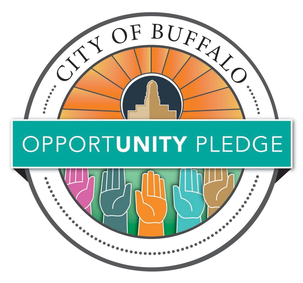 City resident Erin Harris won Opportunity Pledge contest with this design.