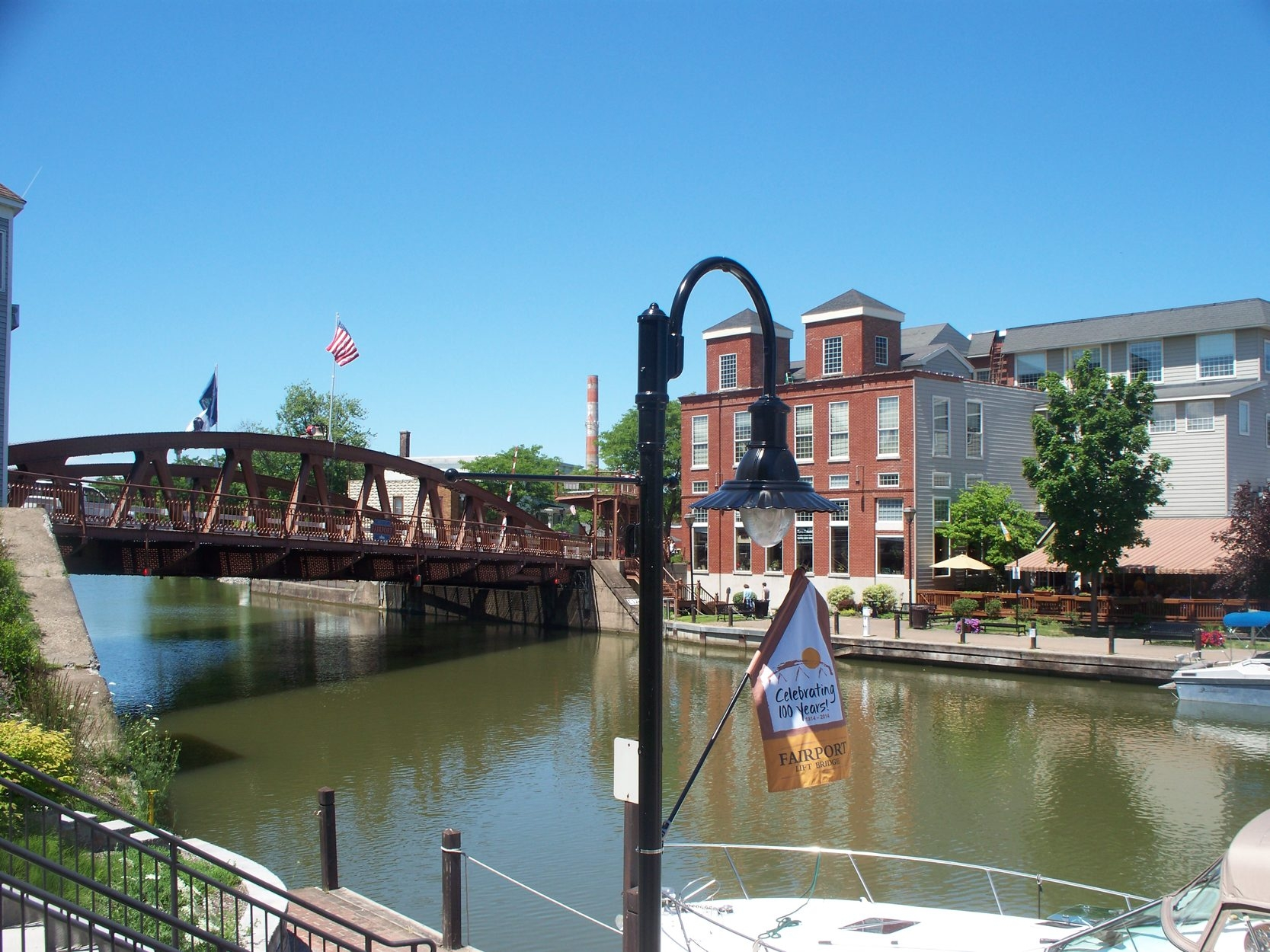 Fairport is one of the overnight stops on the Cycle the Erie Canal tour, which follows the canal from Buffalo to Albany. This year's ride begins Sunday.