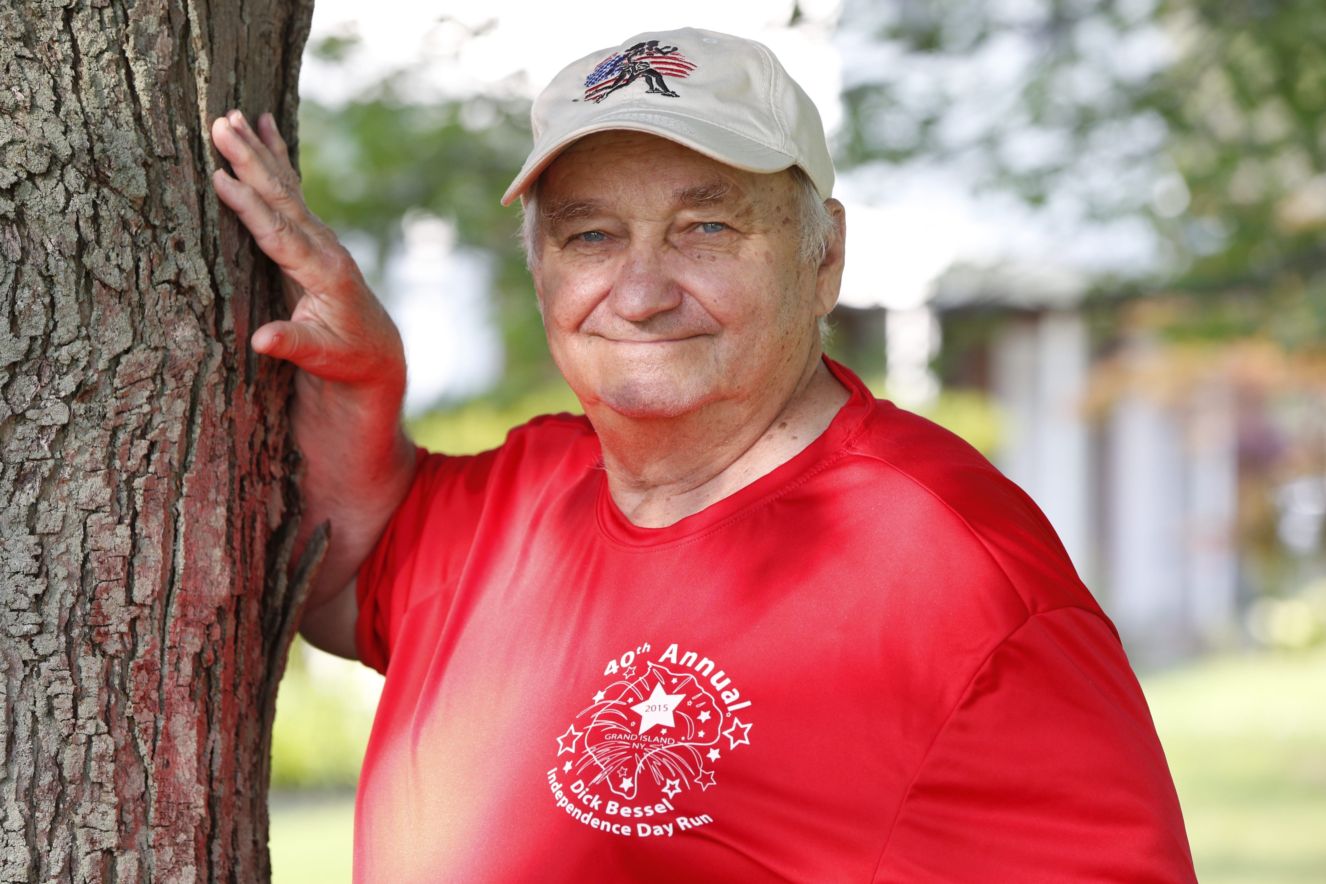 Dick Bessel made such an impact on the running scene in Grand Island that the town long ago opted to name its annual  Independence Day event in his honor.