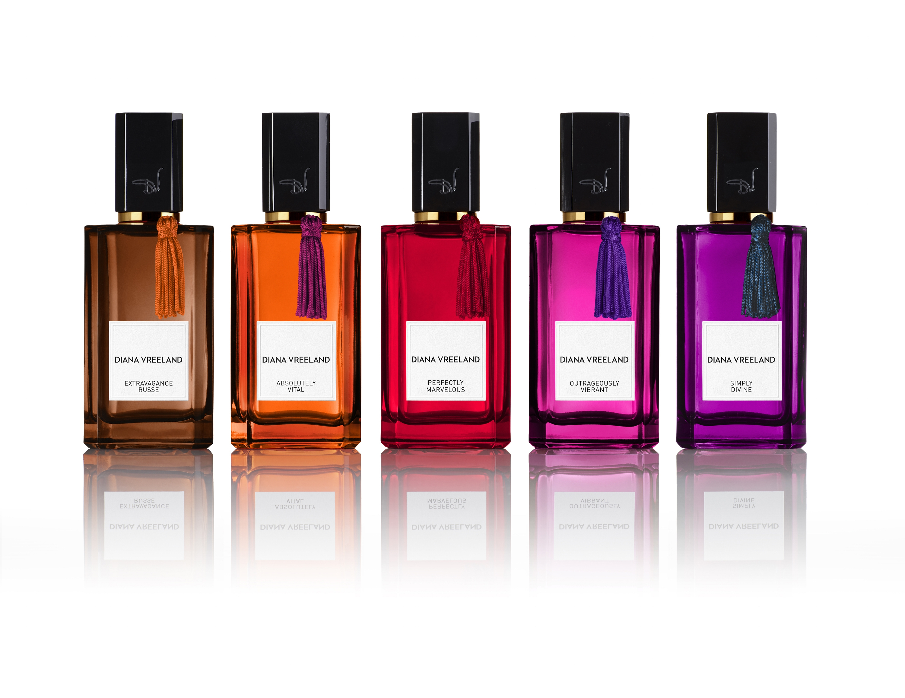 Diana Vreeland Parfums launched in September with six scents and added a seventh for spring, an iris oud named Daringly Different.