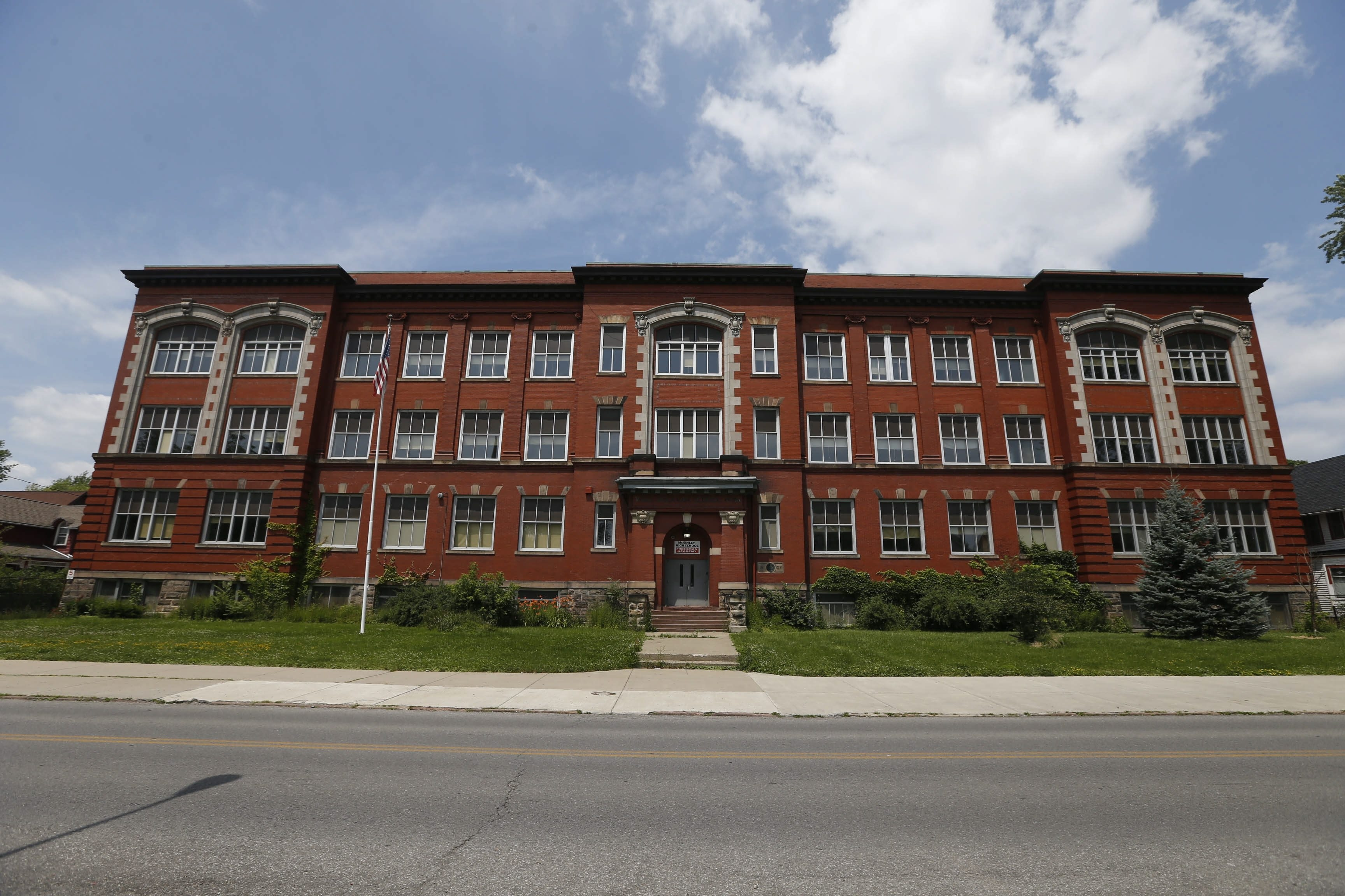 School 56 today Friday, July 10, 2015.  (Robert Kirkham/Buffalo News)