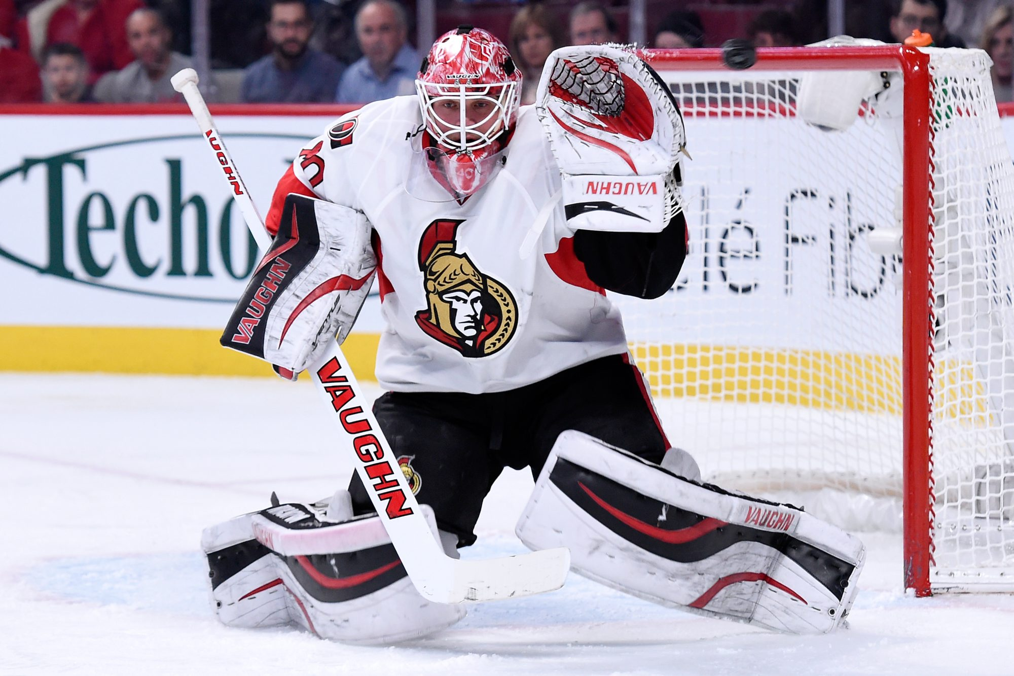 While with Ottawa, Robin Lehner served as Craig Anderson's backup for his entire time there. His best season was the strike-shortened 2013 campaign.