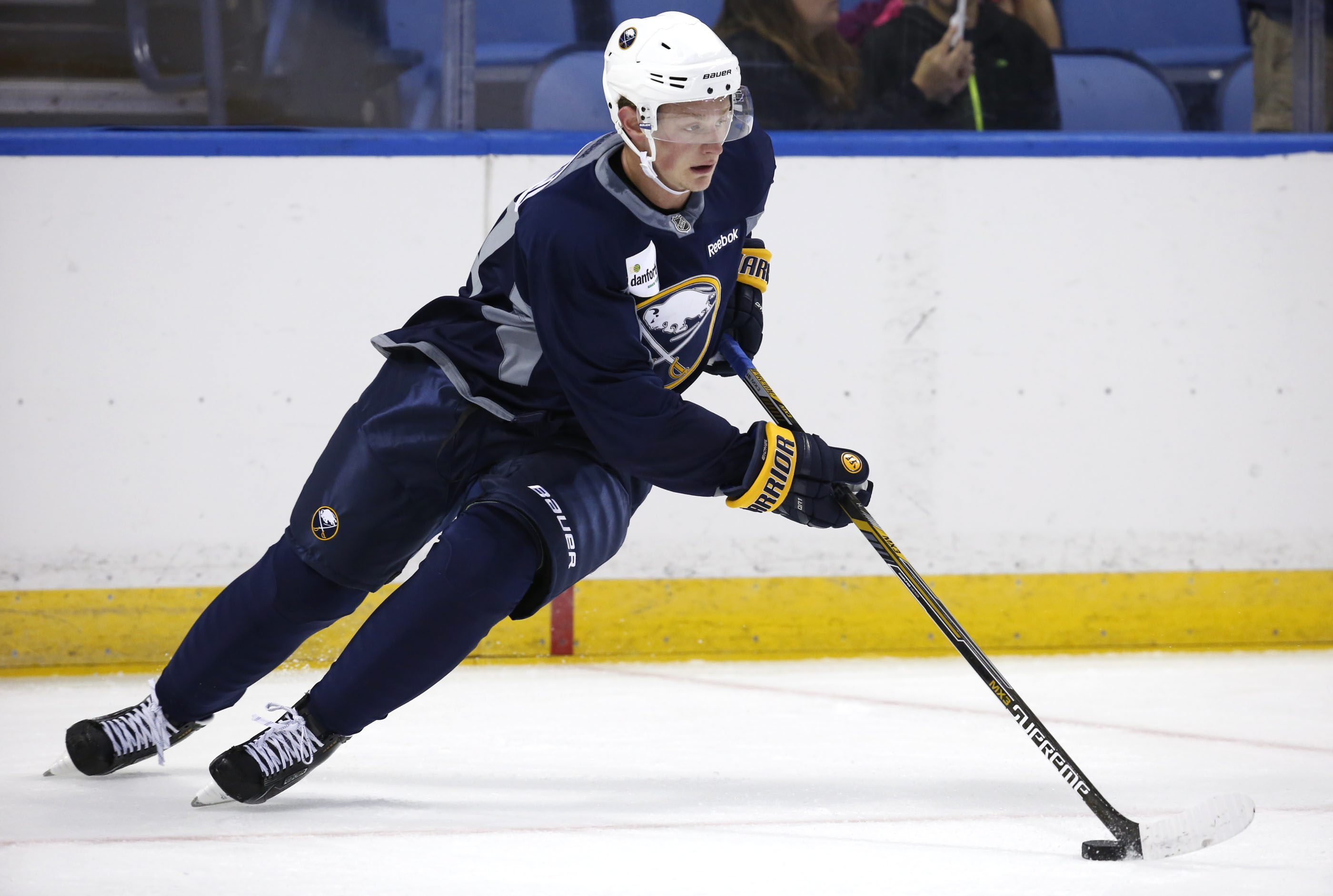 Jack Eichel wore No. 41 at the Sabres Development Camp on Monday, but he's not expected to keep it over the long term.