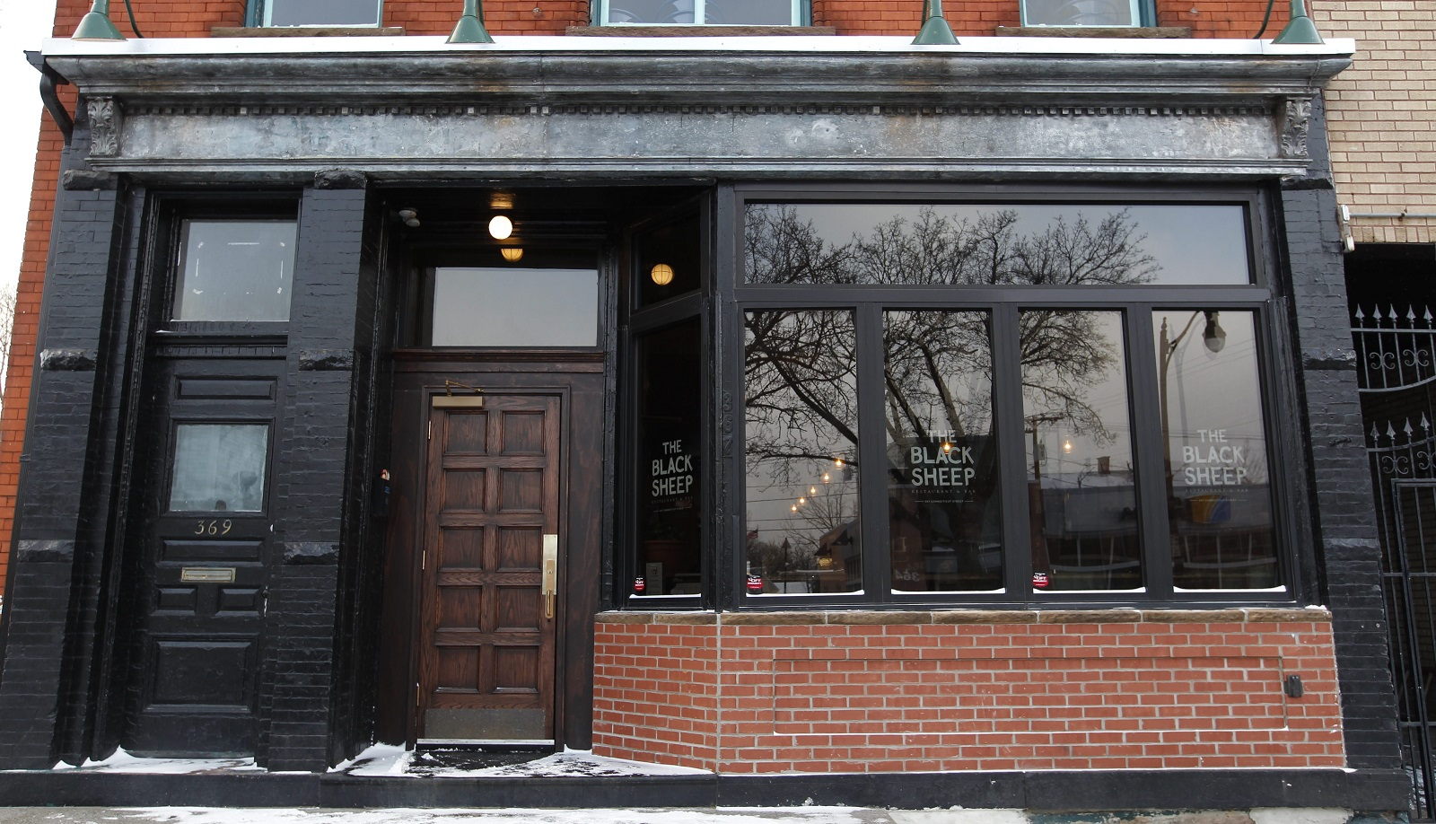 The Black Sheep is Steve Gedra's restaurant in the West Side. (Sharon Cantillon/Buffalo News)