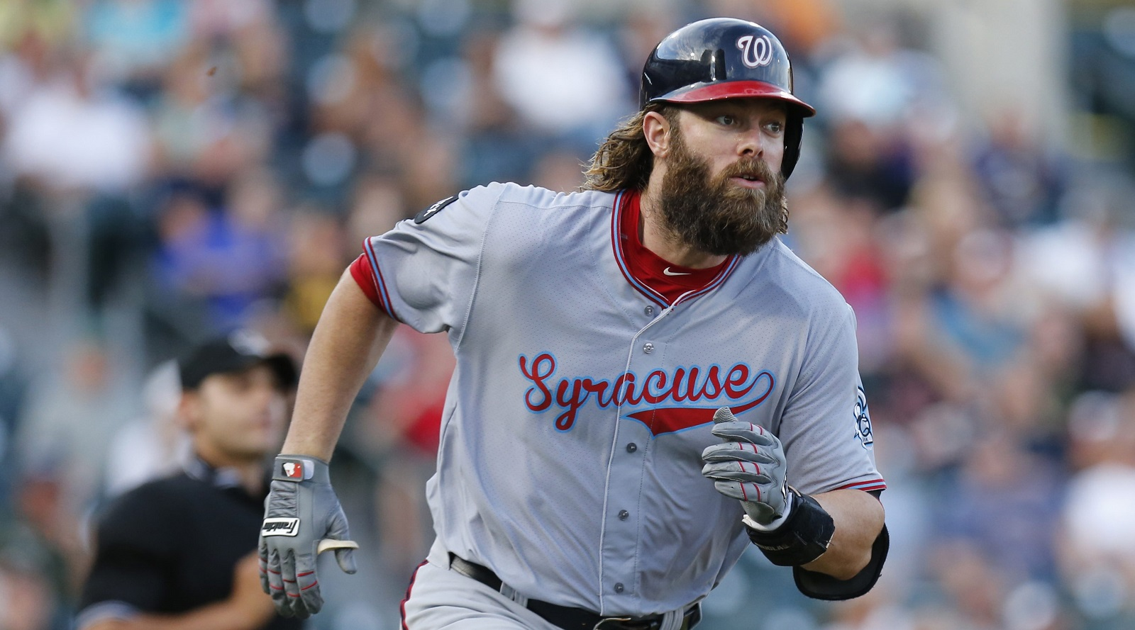 Former World Series winner Jayson Werth did a good deed Monday night in Buffalo. (Harry Scull Jr./Buffalo News)
