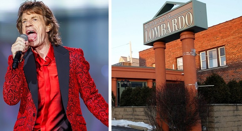 Mick Jagger paid a light-night to Ristorante Lombardo on Thursday. (Getty Images; Sharon Cantillon/Buffalo News file photo)