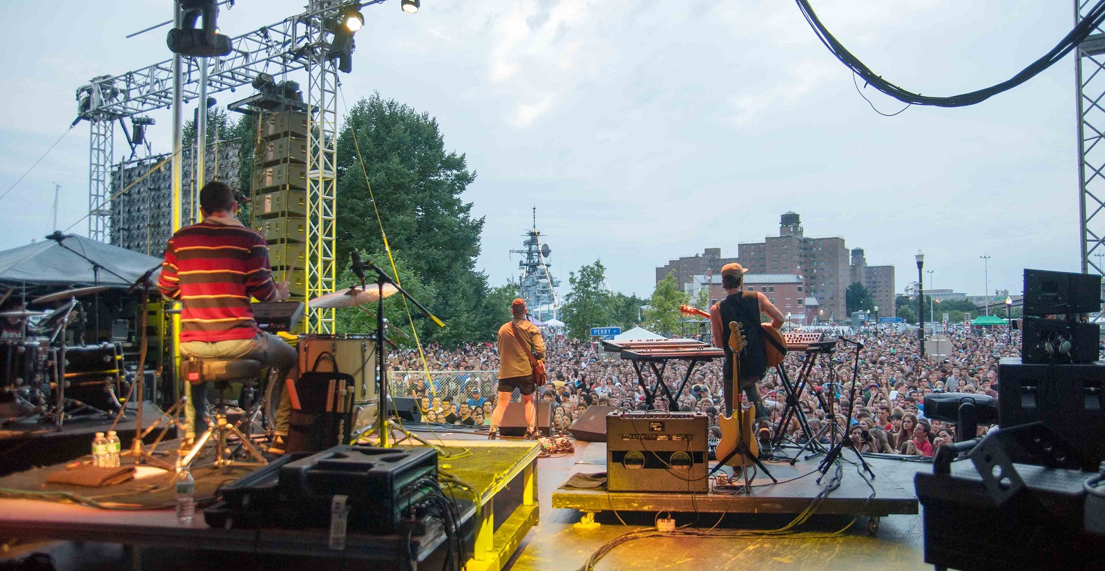A scene from backstage at last year's Kerfuffle, the summer show hosted by Alternative Buffalo. (Erica Morano/Special to The News)
