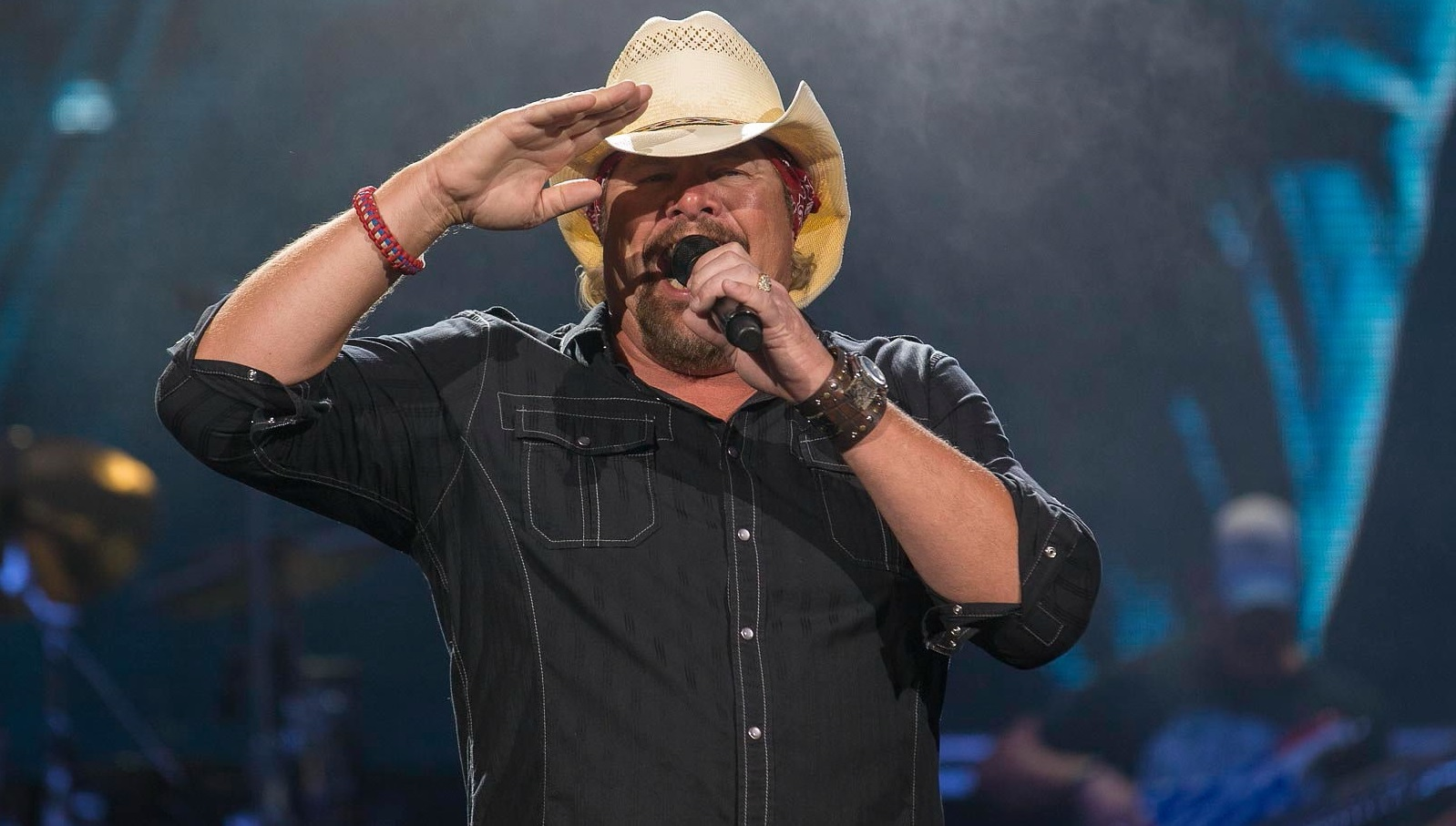 Toby Keith, the 'King of Country,' performed Saturday night in Darien Lake. (Don Nieman/Special to The News)