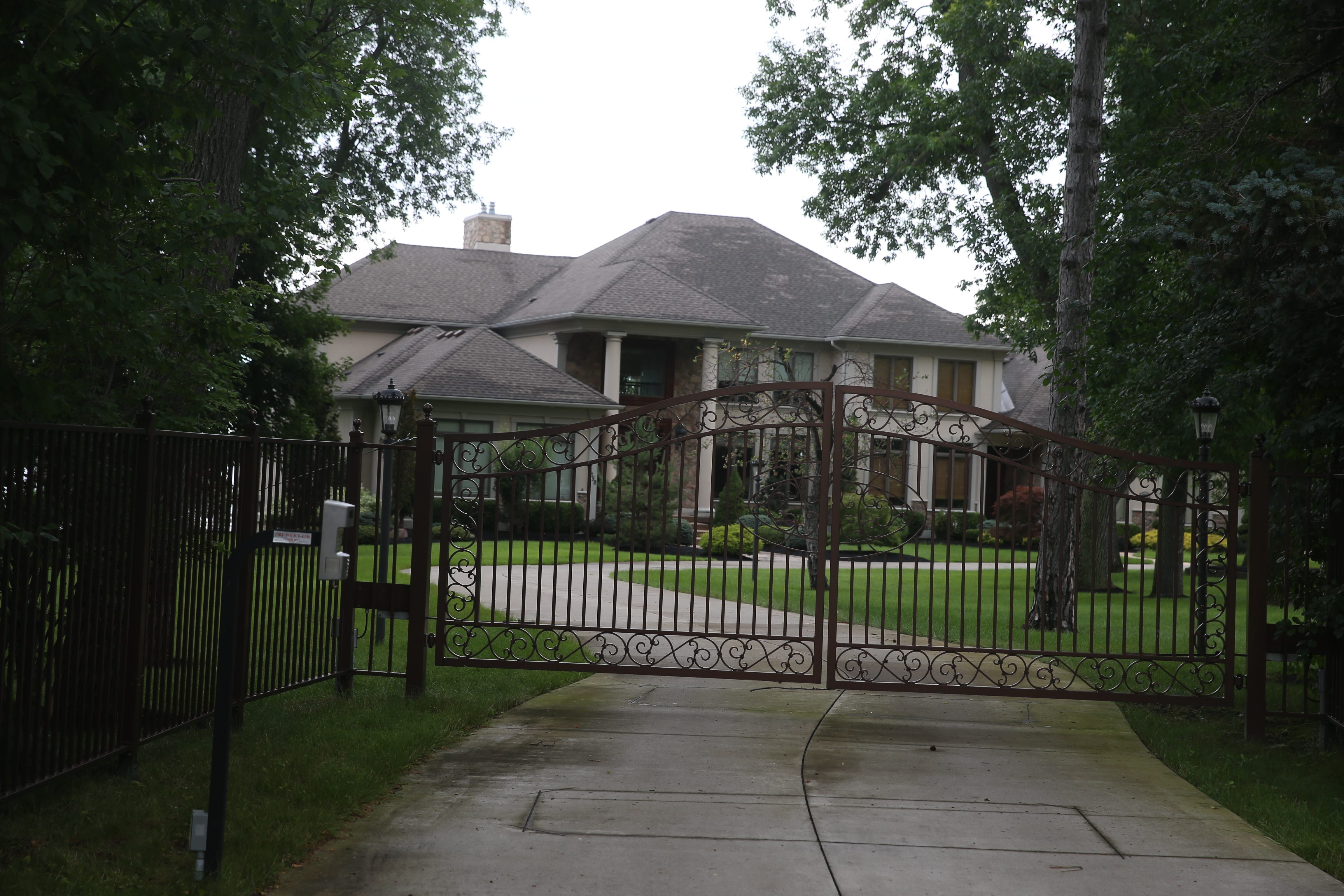 The house owned by Patrick Kane where the alleged rape took place, 5358 Old Lake Shore Road in Lake View.