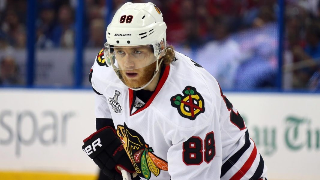 Chicago Blackhawks star Patrick Kane, 26, has a home in Hamburg.