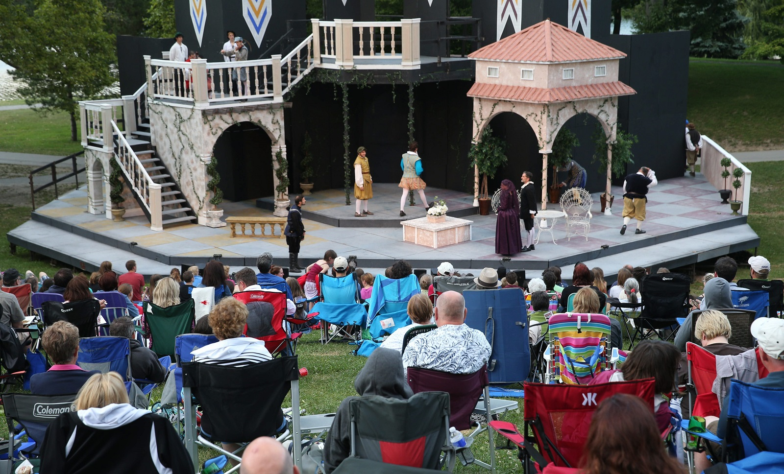 Shakespeare in Delaware Park is preparing for a new season. (Sharon Cantillon/Buffalo News file photo)