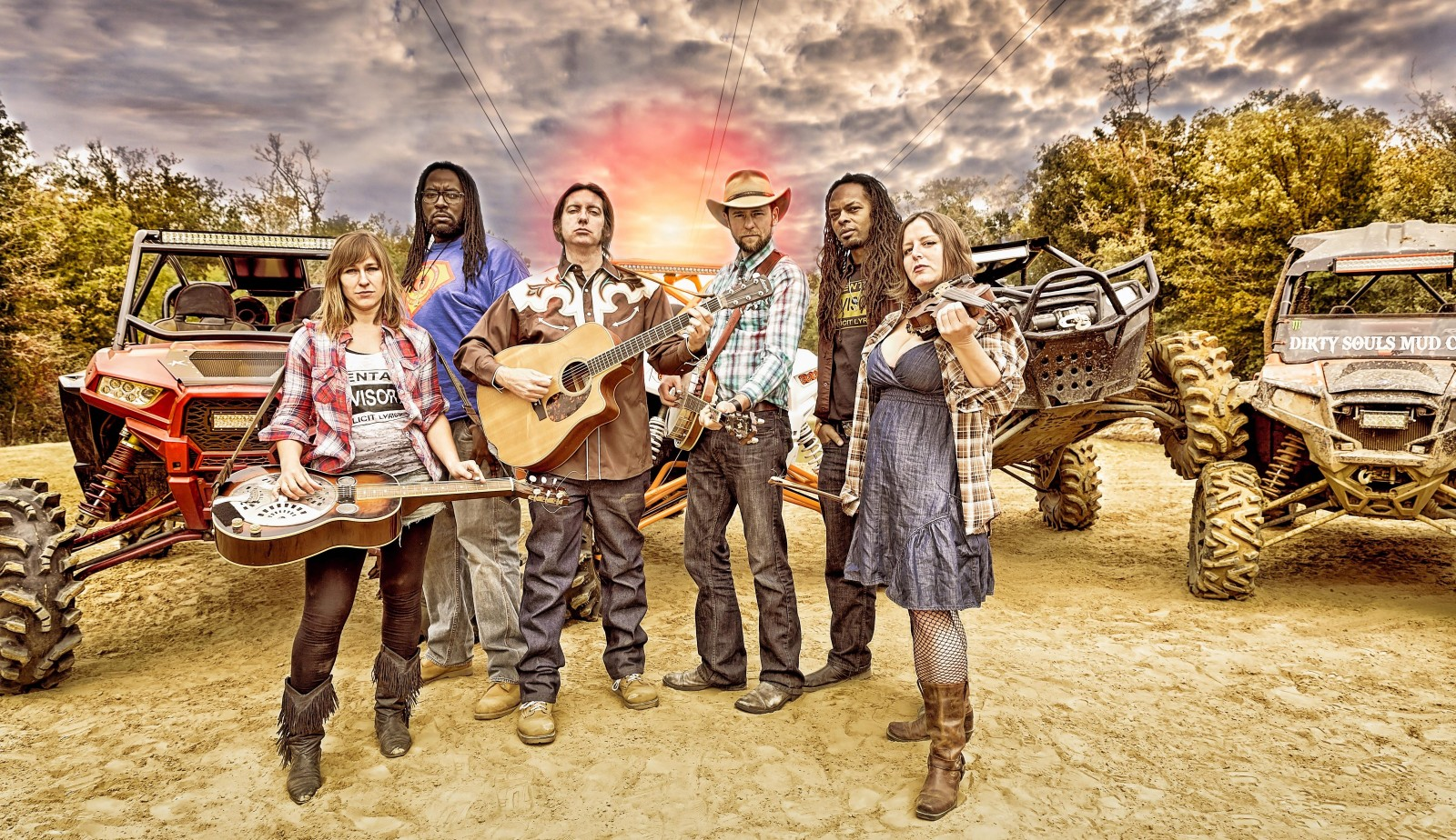 Gangstagrass performs at 9 p.m. Saturday at Buffalo Iron Works.